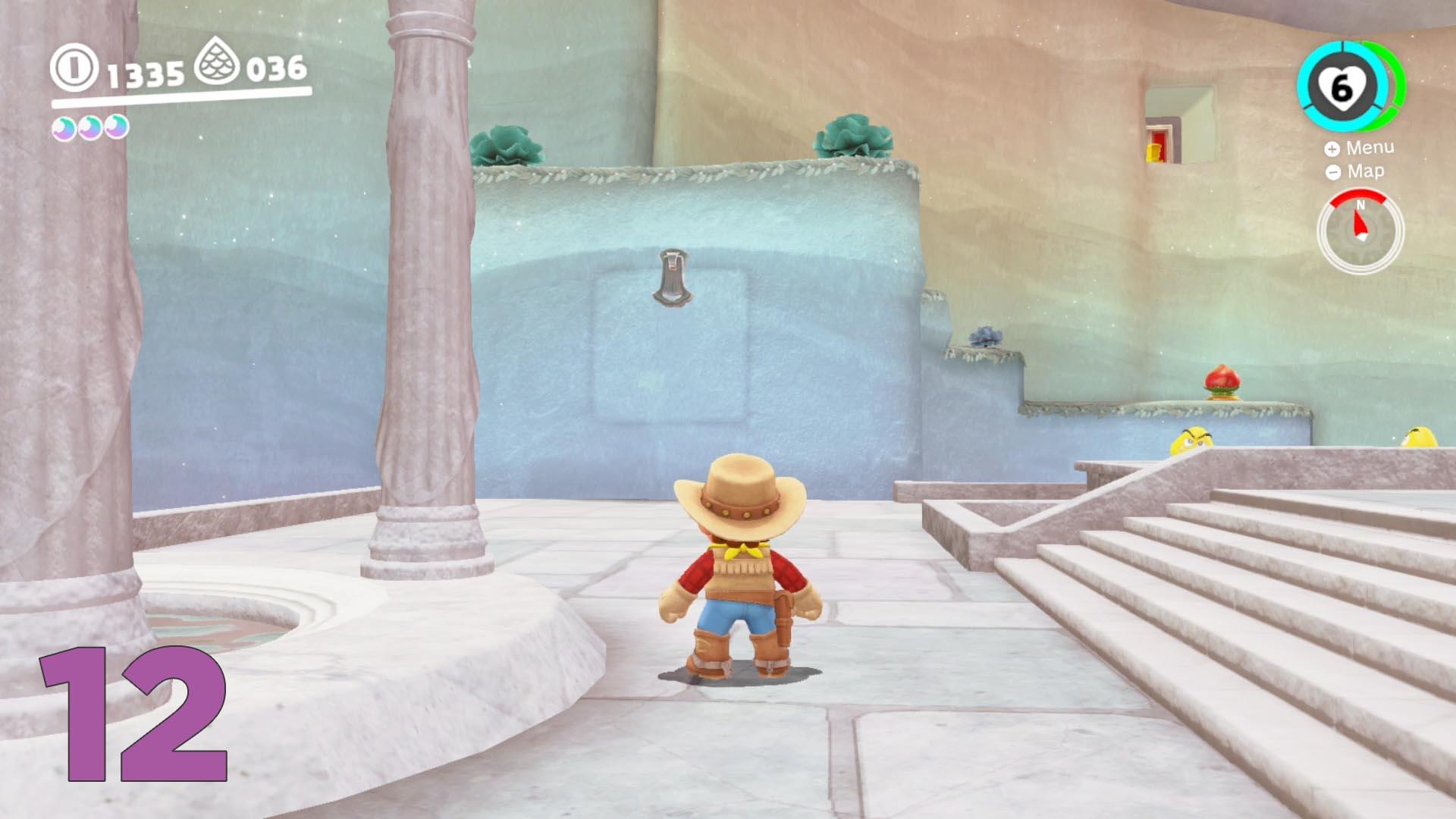 Super Mario Odyssey Guide Lake Kingdom All Purple Coin