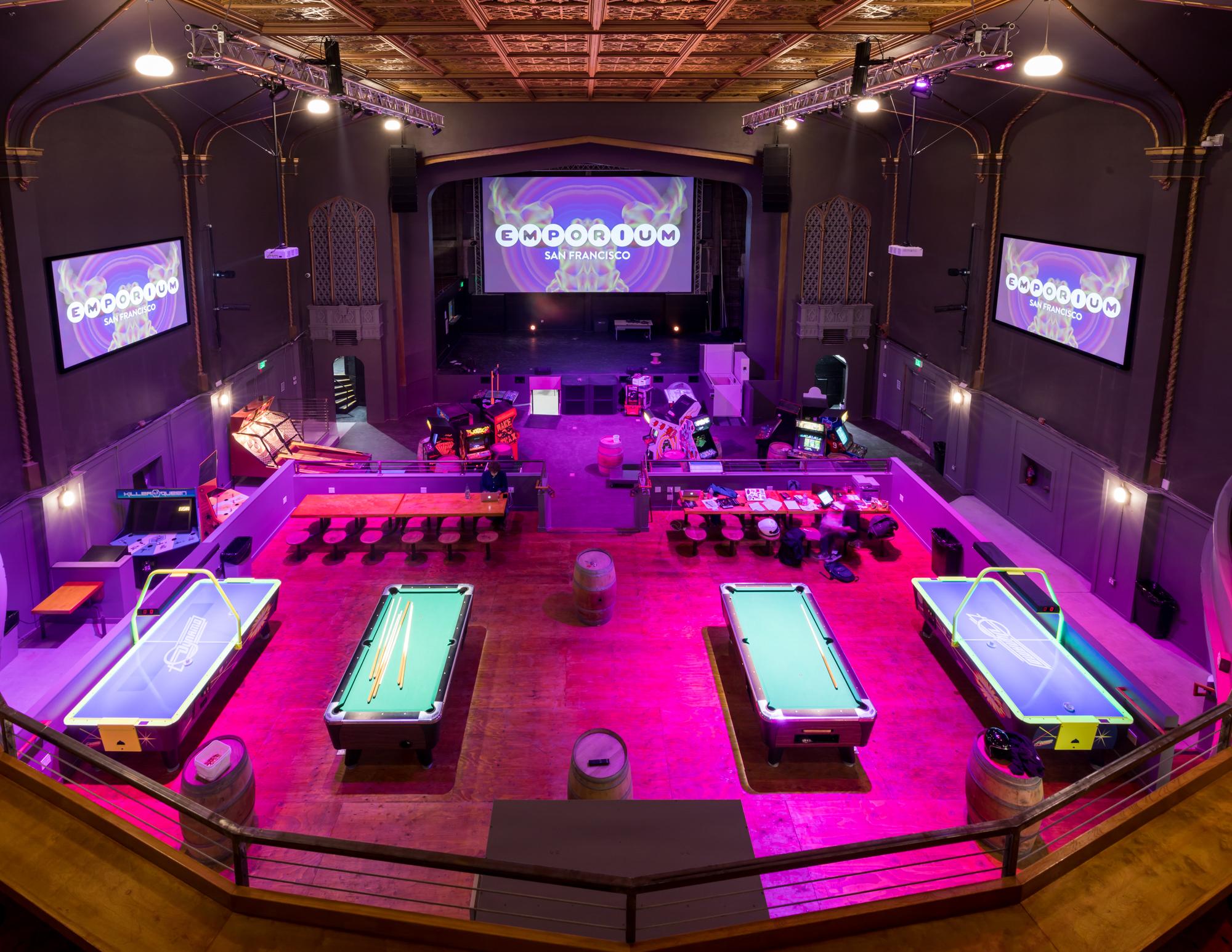 Tabletop Arcade Games >> Enter Emporium, an Arcade Bar and Venue in a Long-Vacant Divisadero Theater - Eater SF