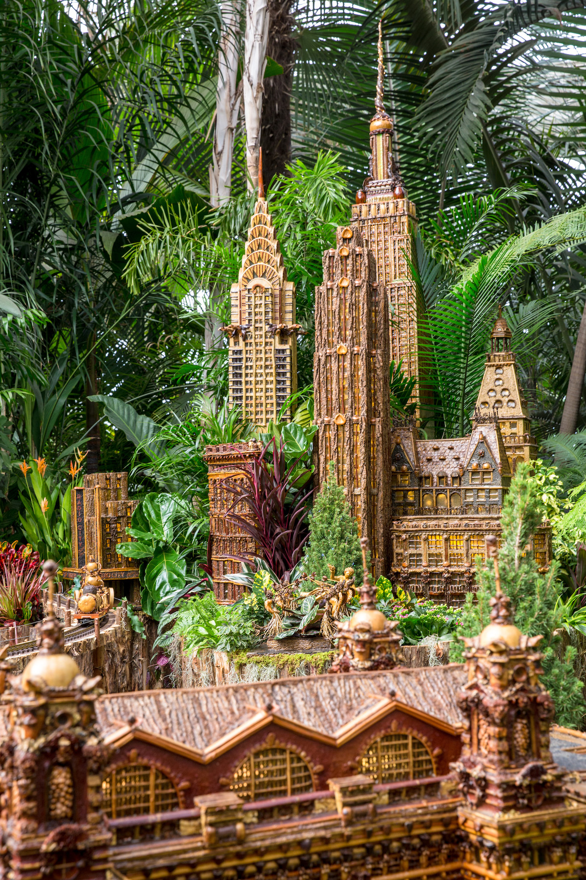 See A Miniature Empire State Building At This Year 39 S Ny Botanical Garden Train Show Curbed Ny