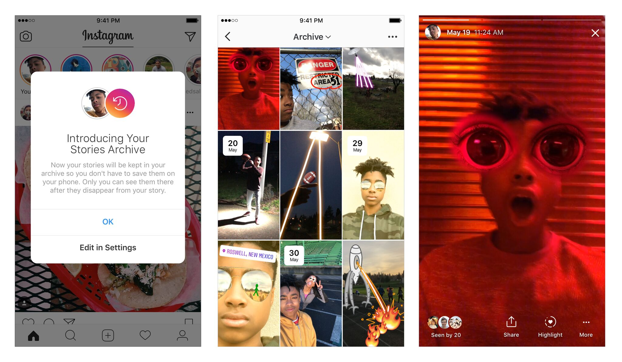 Instagram now lets you save Stories and highlight your favorite ones