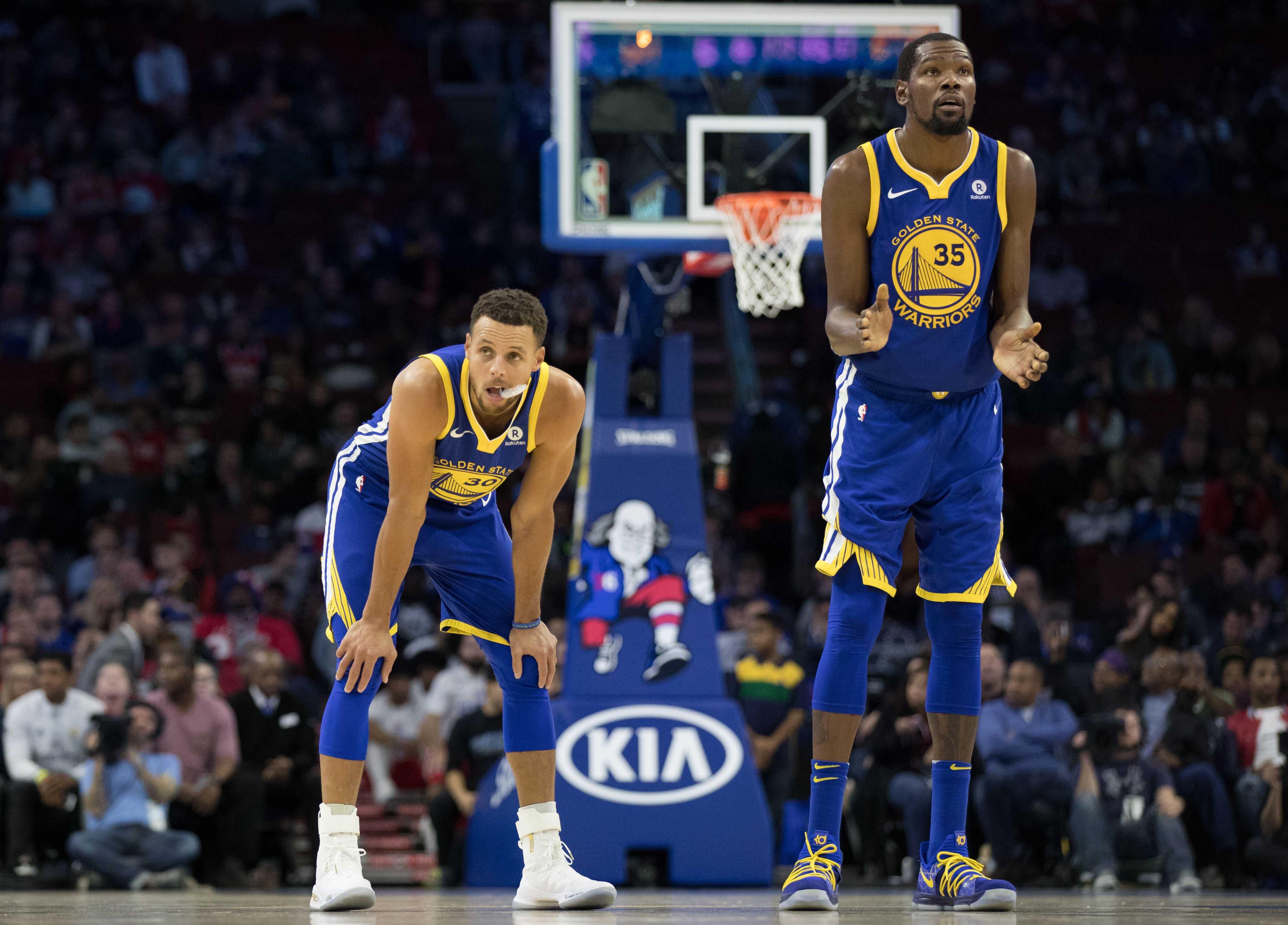 NBA: Golden State Warriors at Philadelphia 76ers