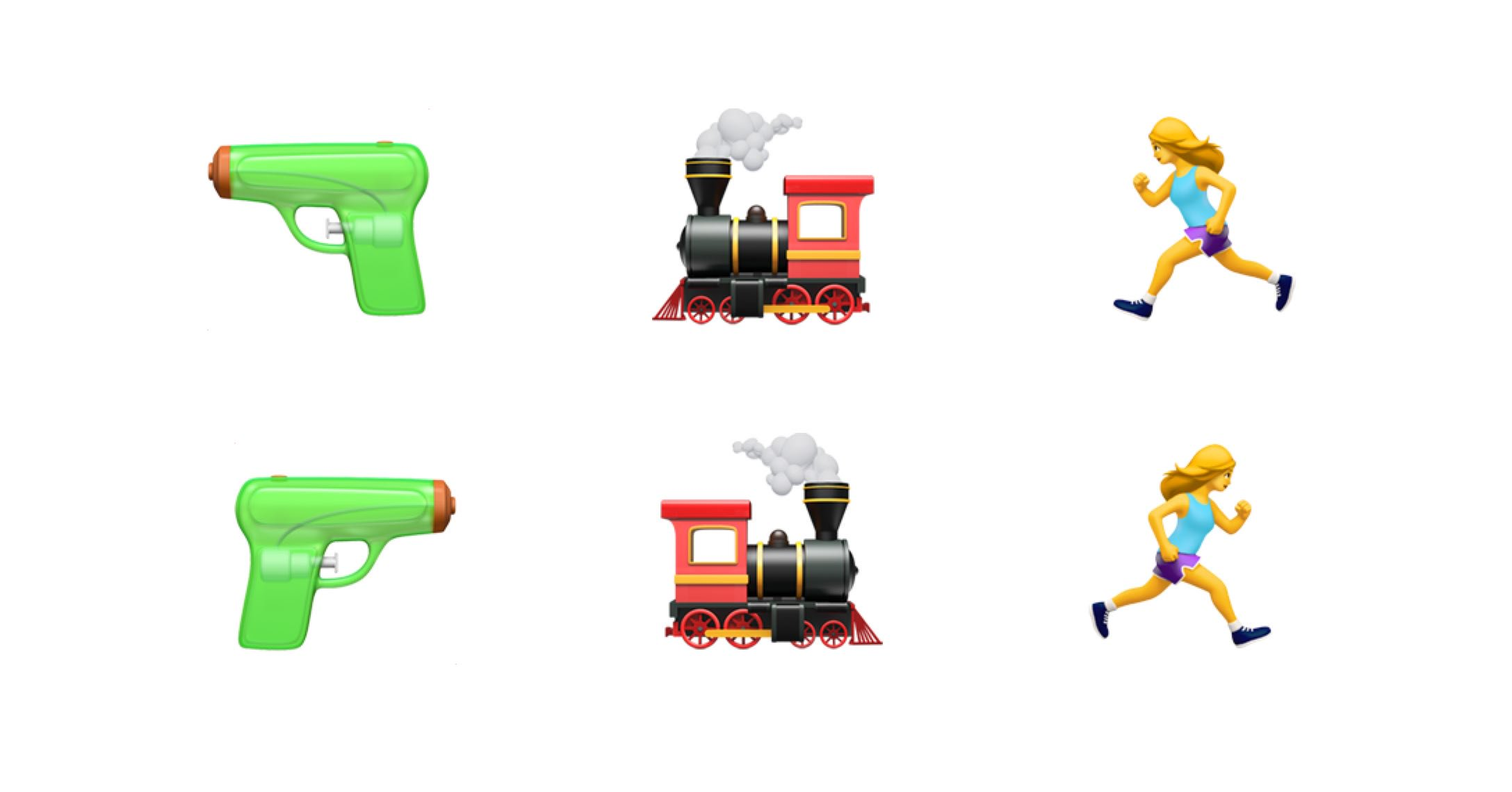 Emoji direction change