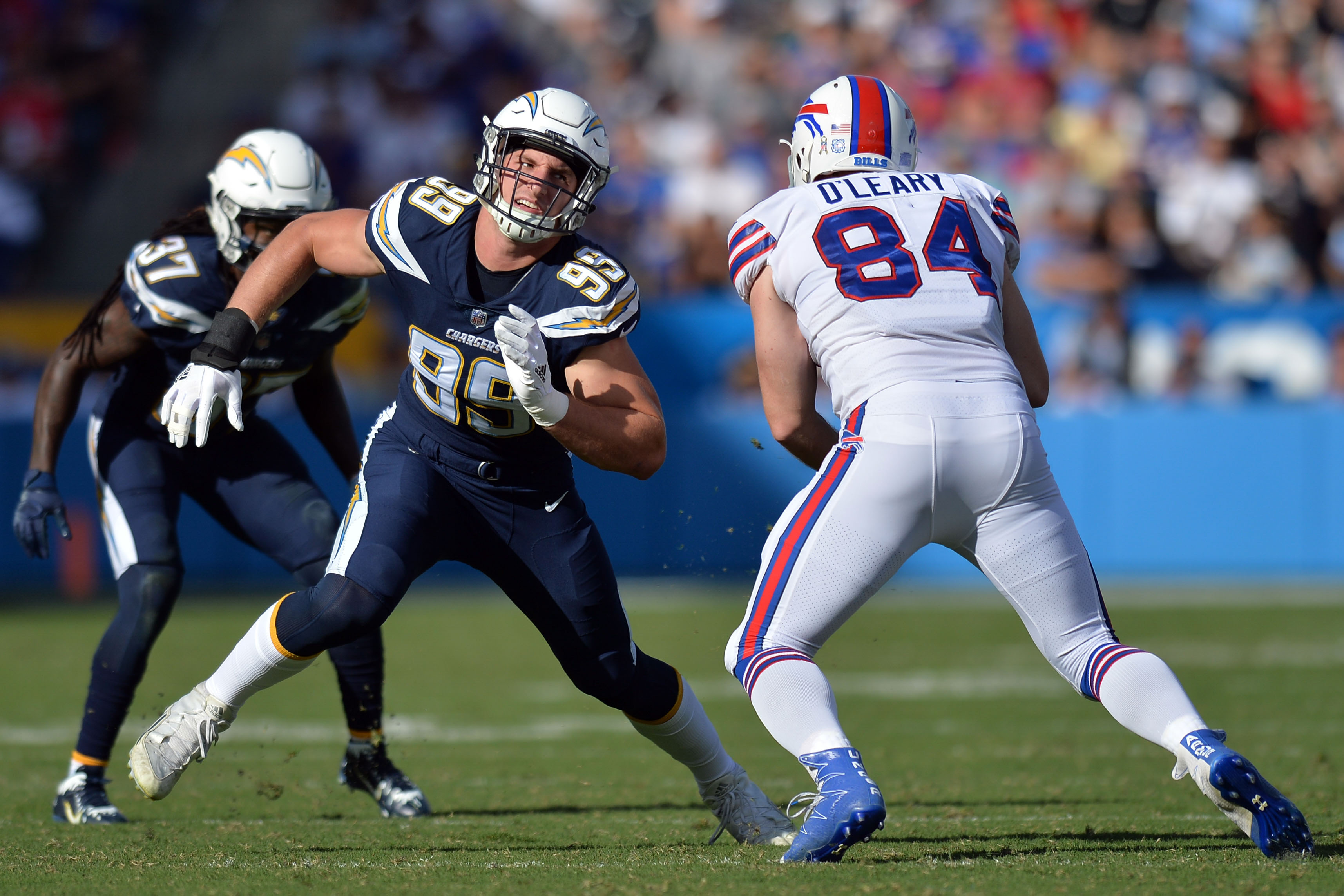 Chargers Advent Calendar Day 5 Joey Bosa Bolts From The Blue