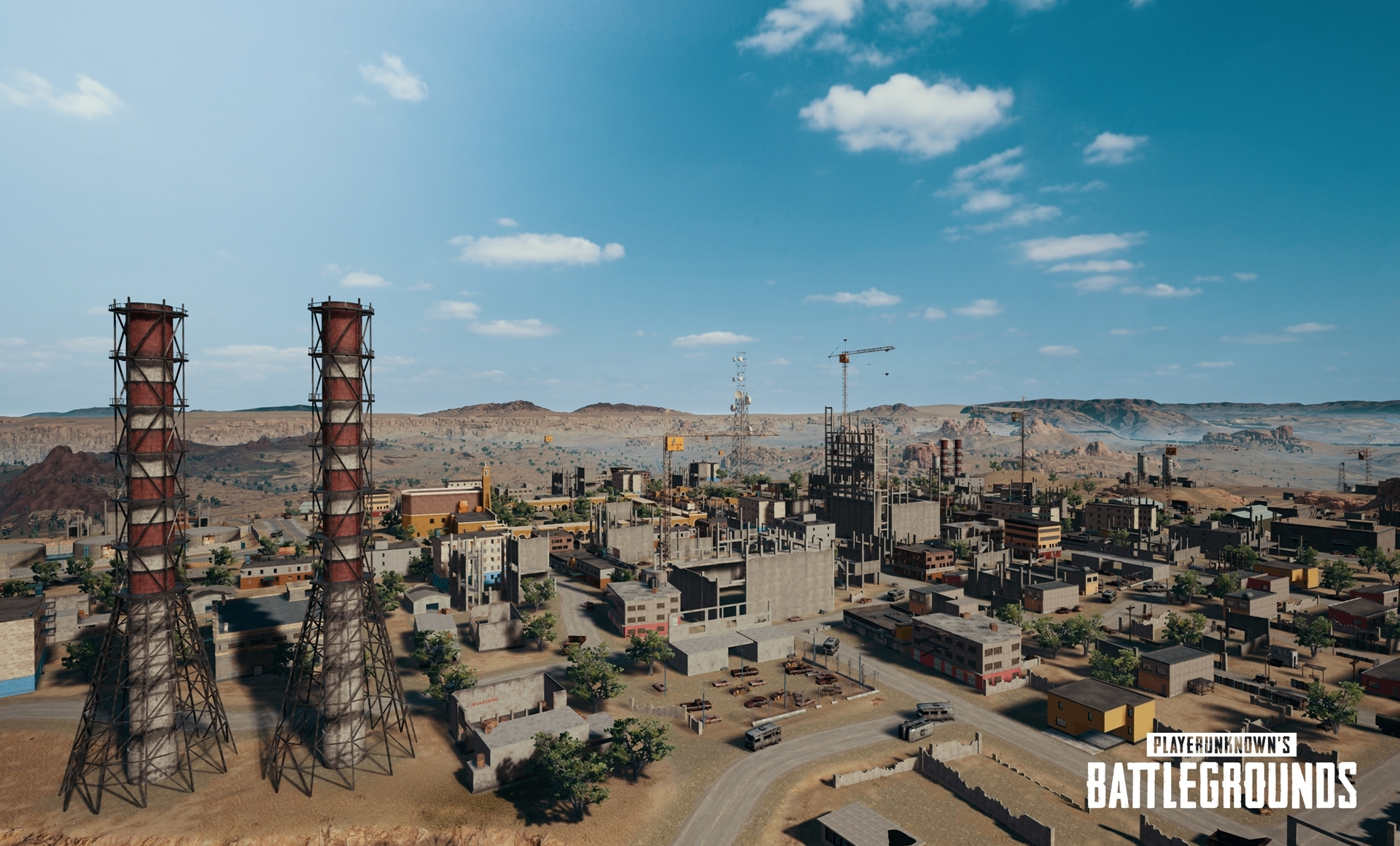 Pubg s new desert map is revealed polygon for The miramar