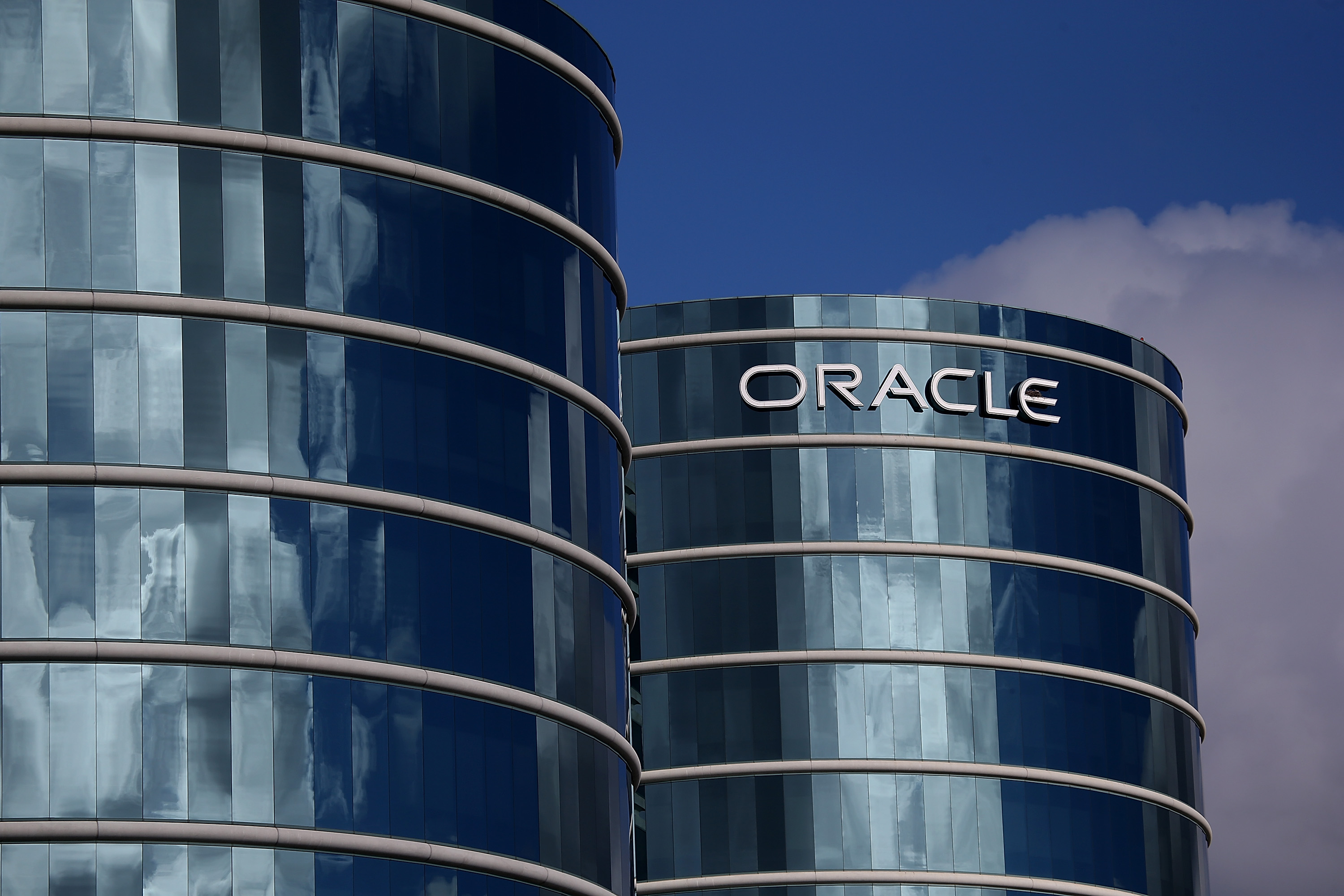 The Oracle building
