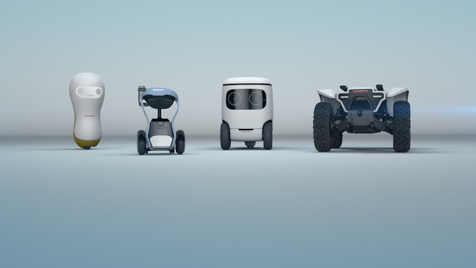 Honda Announces Four Robot Concepts With Friendly Faces