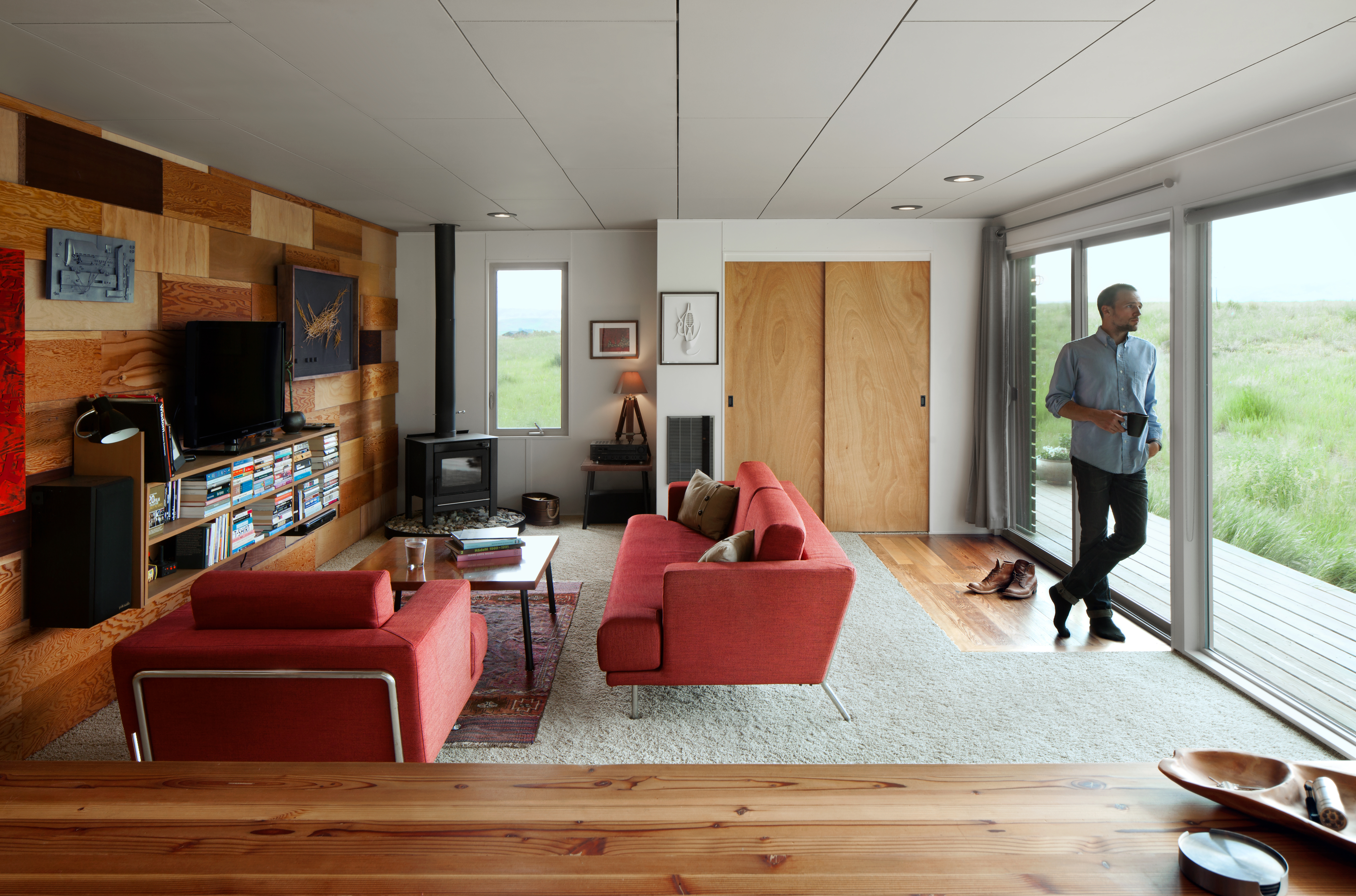 Handcrafted shipping container home asks $125K - Curbed