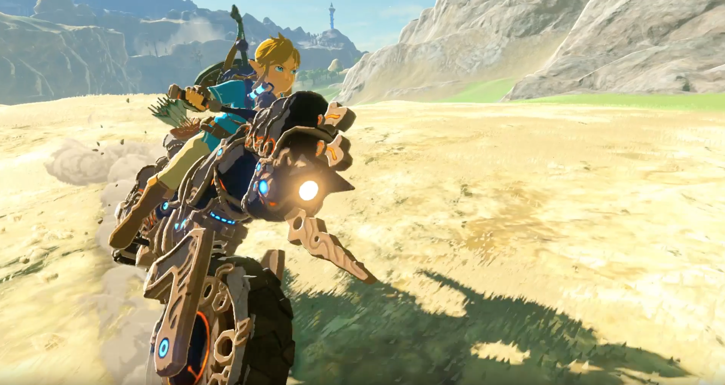 Zelda Breath Of The Wild Master Cycle: Link Can Ride A Motorcycle In Breath Of The Wild's New DLC