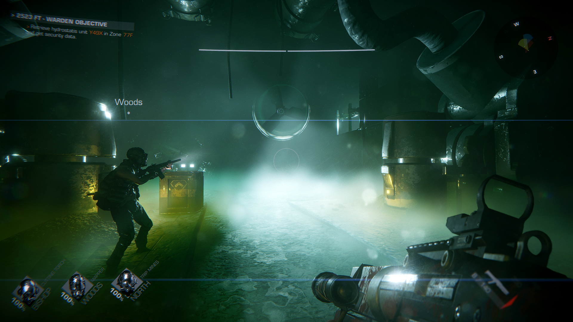 GTFO is a co-op shooter with an Aliens vibe