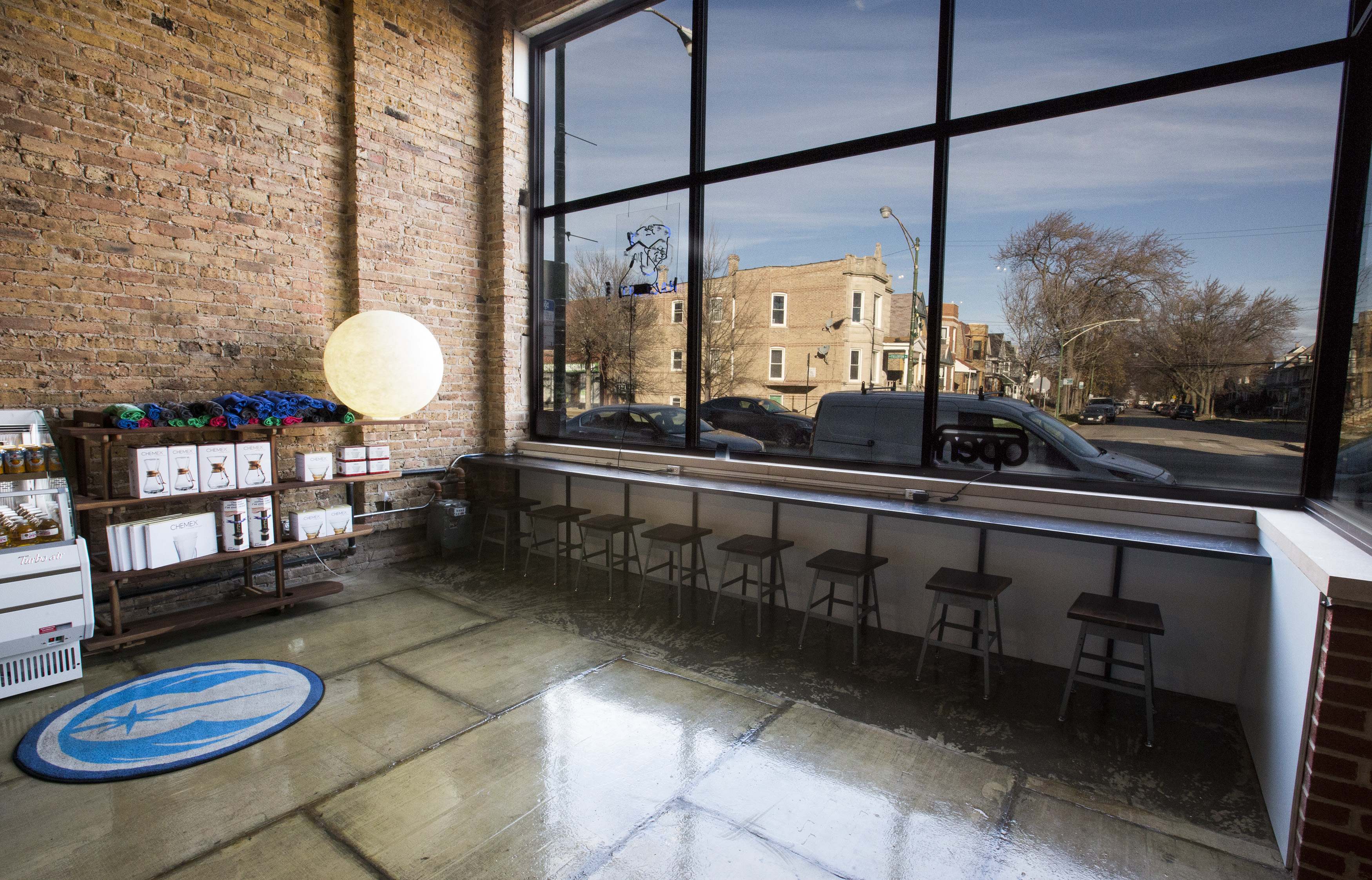 Inside Logan Squares Cold War Inspired Coffee Shop Now Open