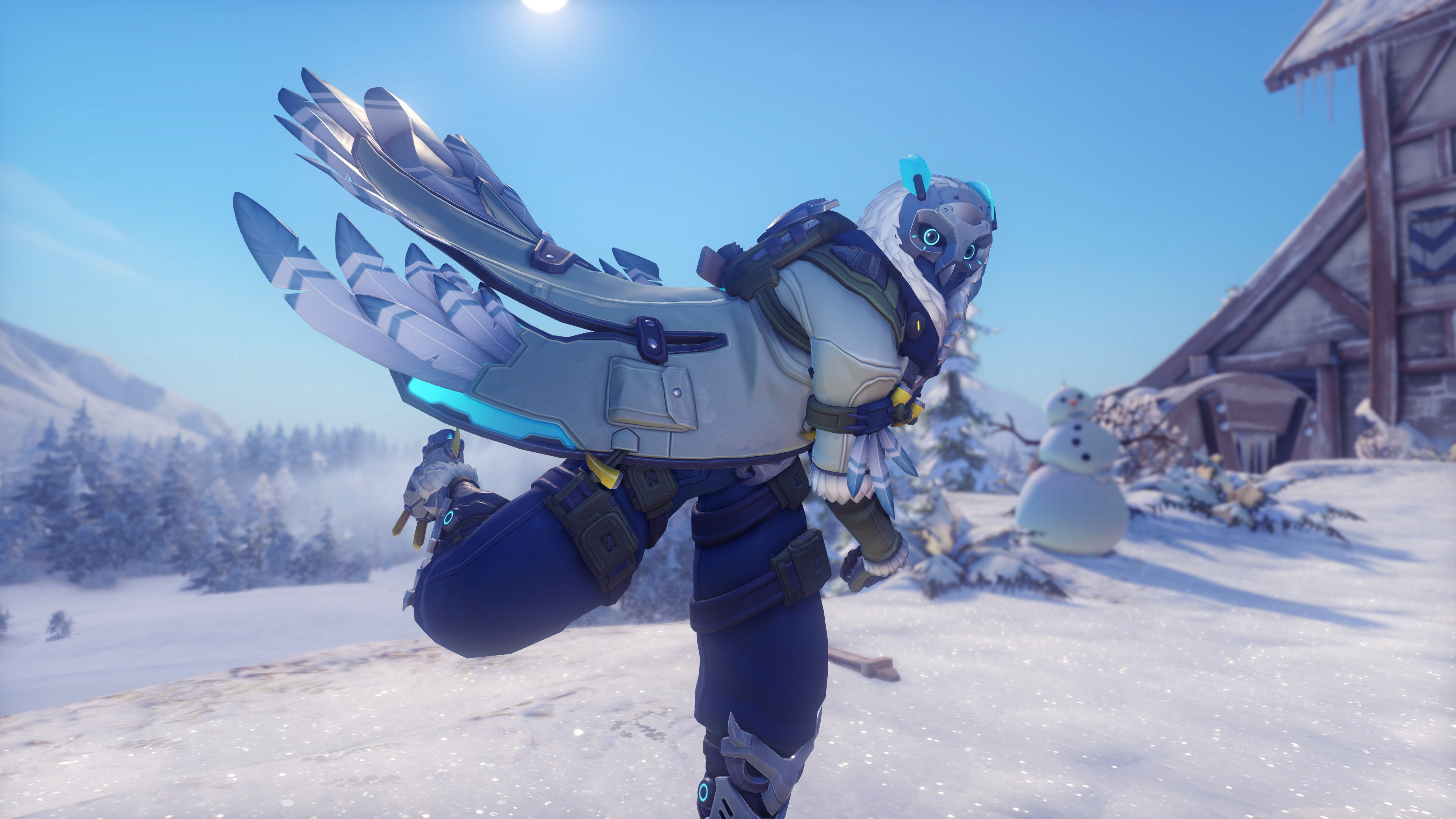 Here Are Overwatch S Winter Wonderland 2017 Skins Polygon
