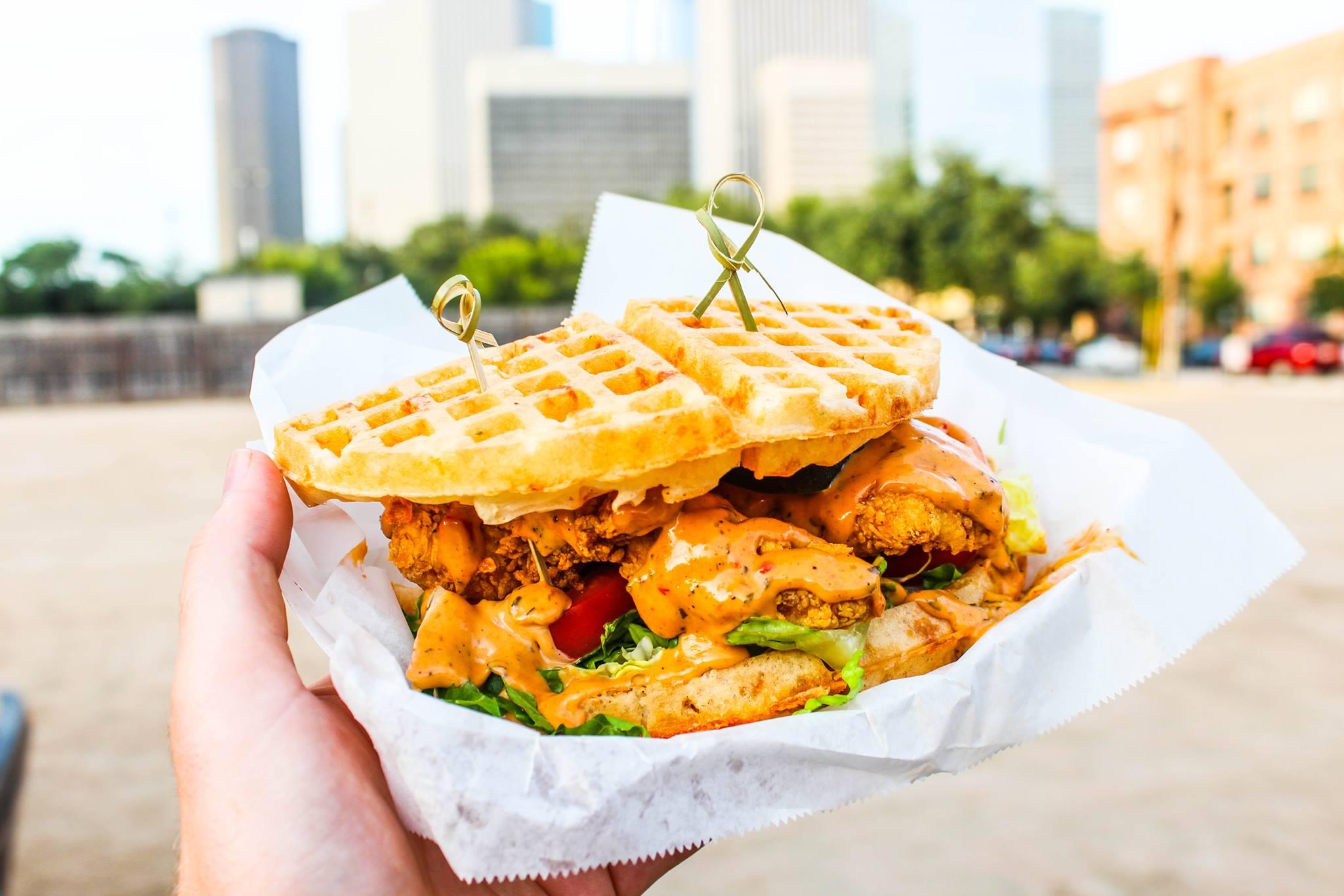 Crispy Or Grilled Food Truck