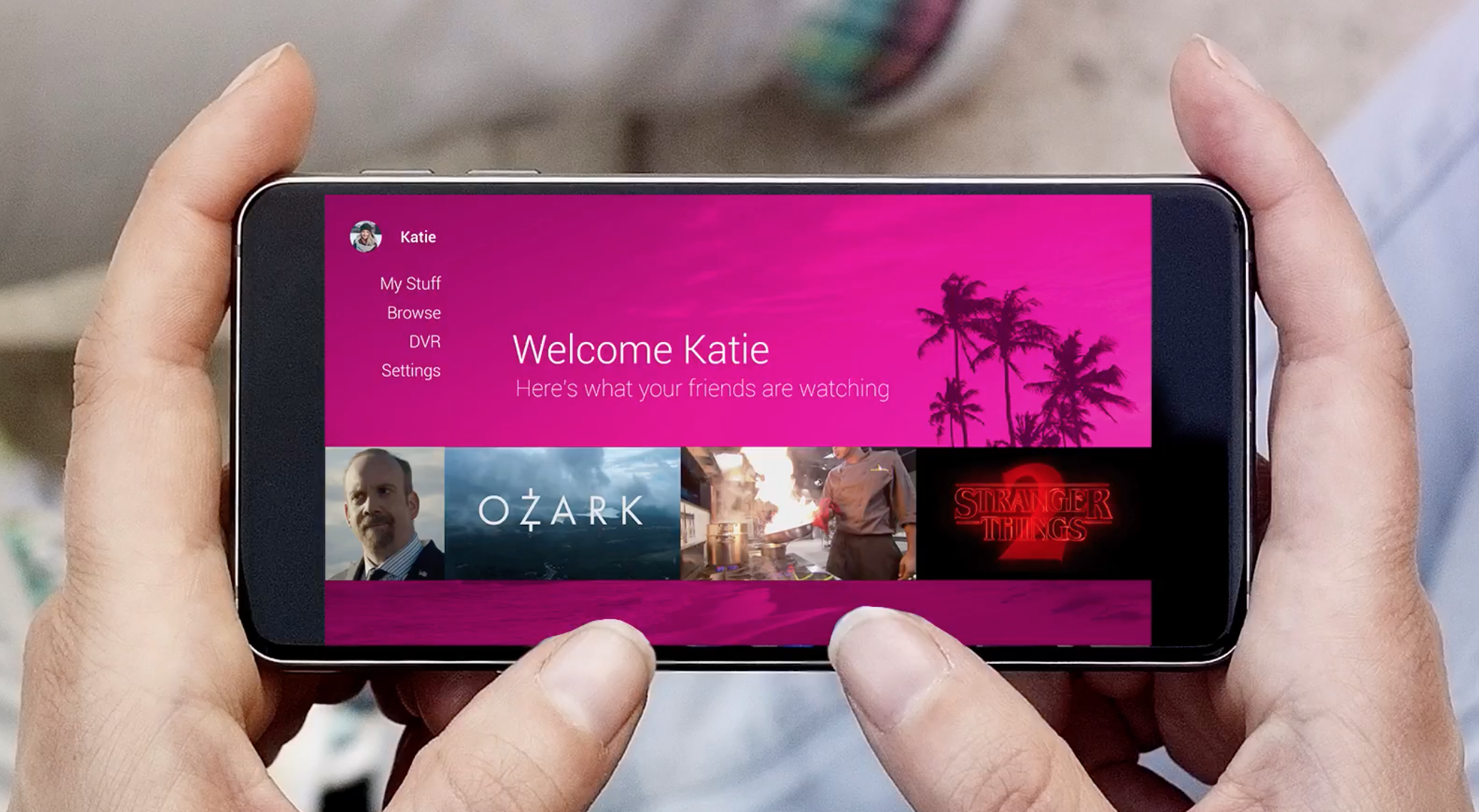 Mobile plans to disrupt TV with their own service
