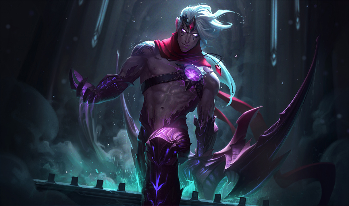 Zed Galaxy Slayer Wallpaper Hd 4k: Varus's Updated Splash Art Looks Menacing And Awesome