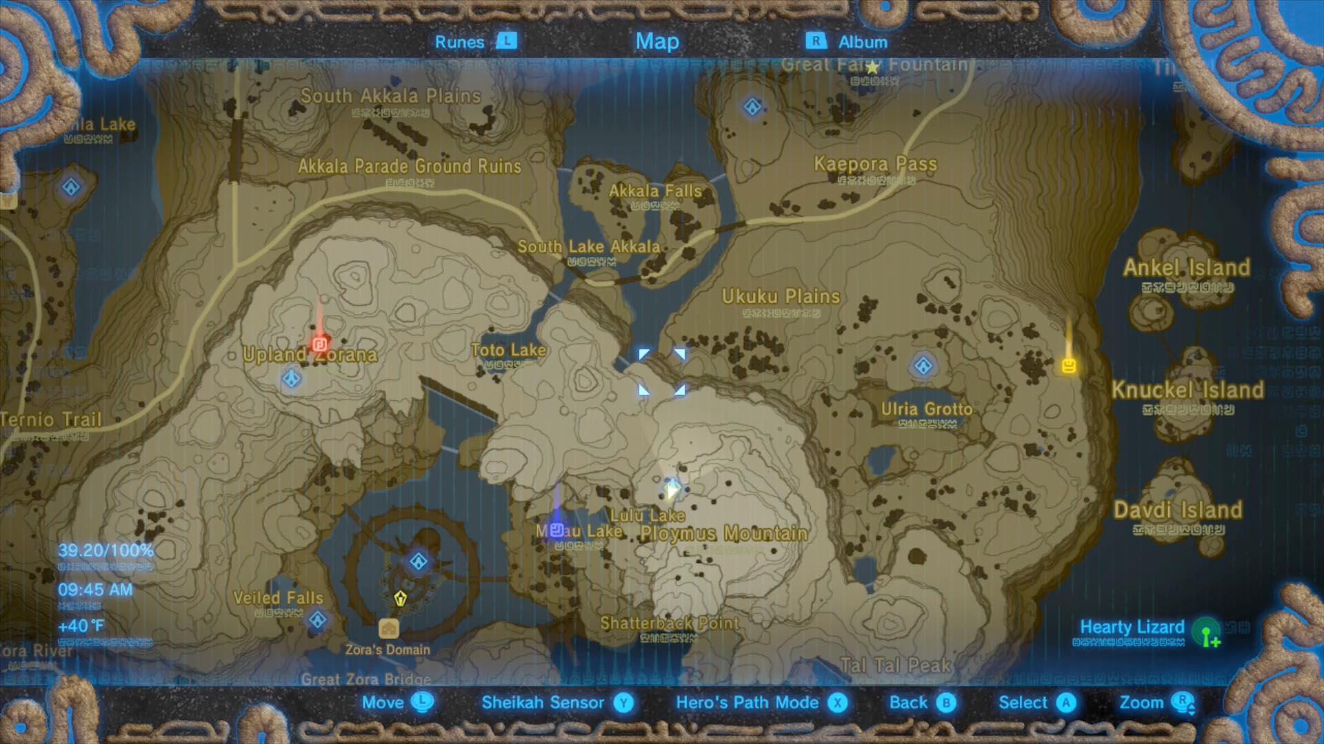 Zelda Botw Shrine Map >> Zelda Breath of the Wild Champions' Ballad guide: Sato Koda shrine walkthrough and puzzle ...