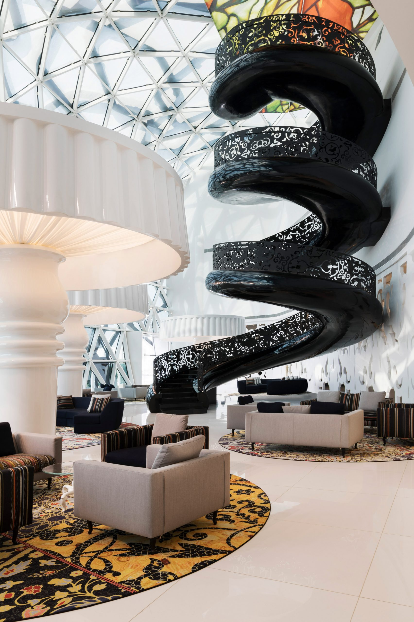 Doha Hotel Designed By Marcel Wanders Is Maximalism At Its Best Curbed