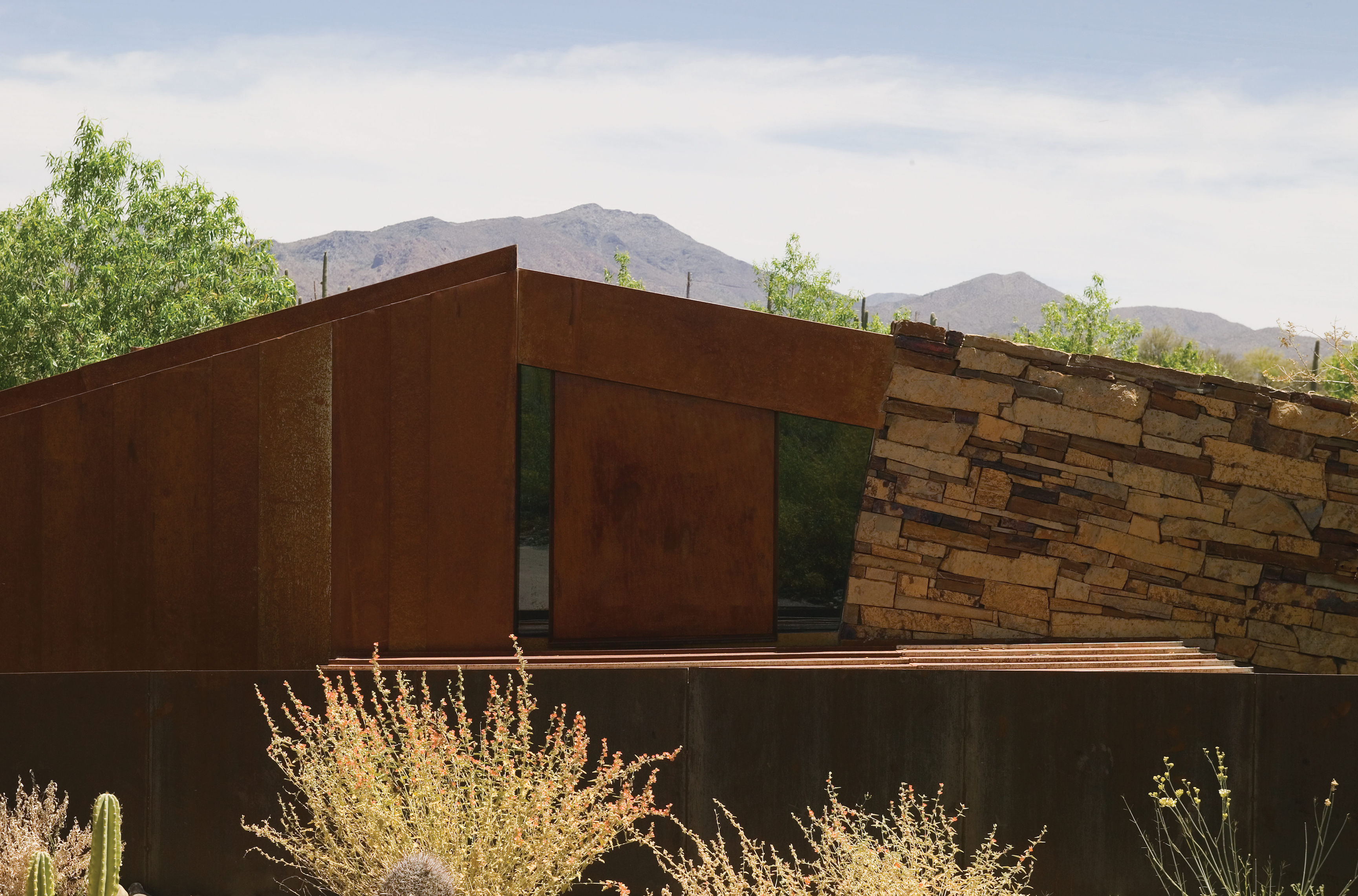 will bruder designed desert modern home asks 1 2m in arizona curbed