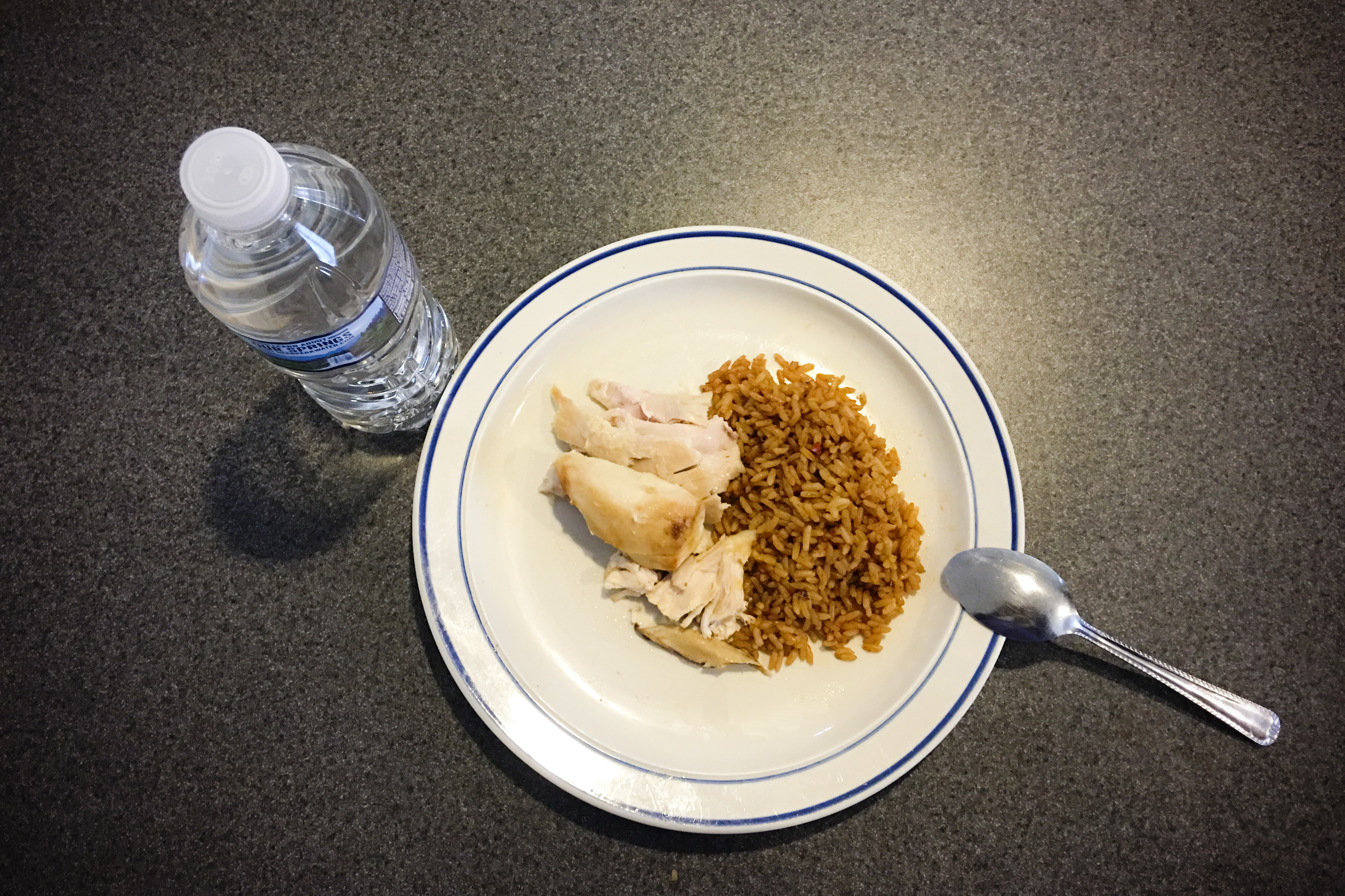 Does bariatric surgery help teens lose weight jewel tells her i decided to have some chicken and rice for lunch to the right is nigerian jollof rice and to the left is rotisserie chicken pre op i would have eaten forumfinder Image collections