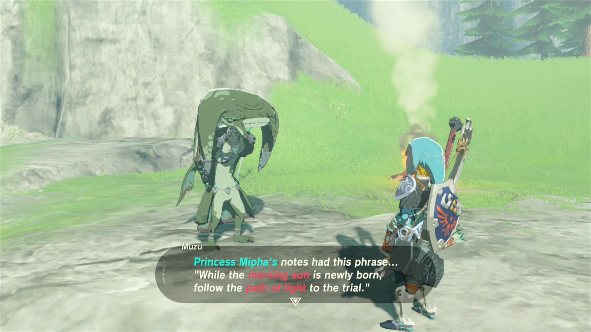 Zelda Breath of the Wild Champions' Ballad guide: Kee