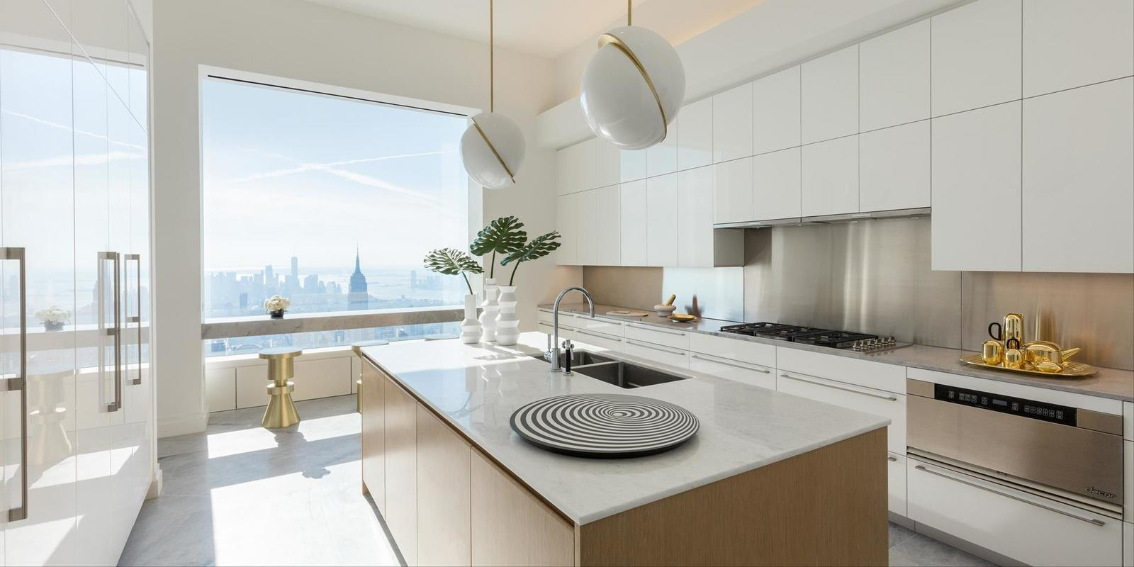 At 432 Park Avenue Two 41m Penthouses On The 94th Floor