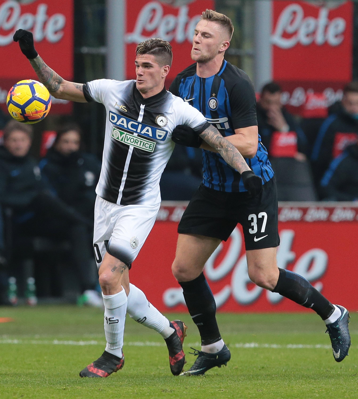 El Inter pierde el liderato tras caer ante Udinese (1-3)