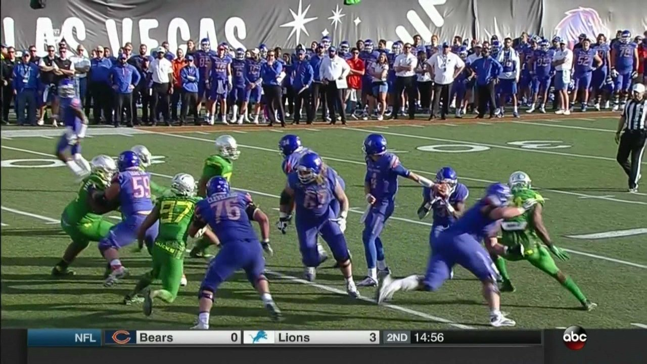 Take Boise State over OR  in an upset special