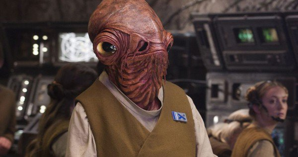 Getting mad about Admiral Ackbar in The Last Jedi is a trap - Star Wars 8 Admiral Ackbar - Getting mad about Admiral Ackbar in The Last Jedi is a trap