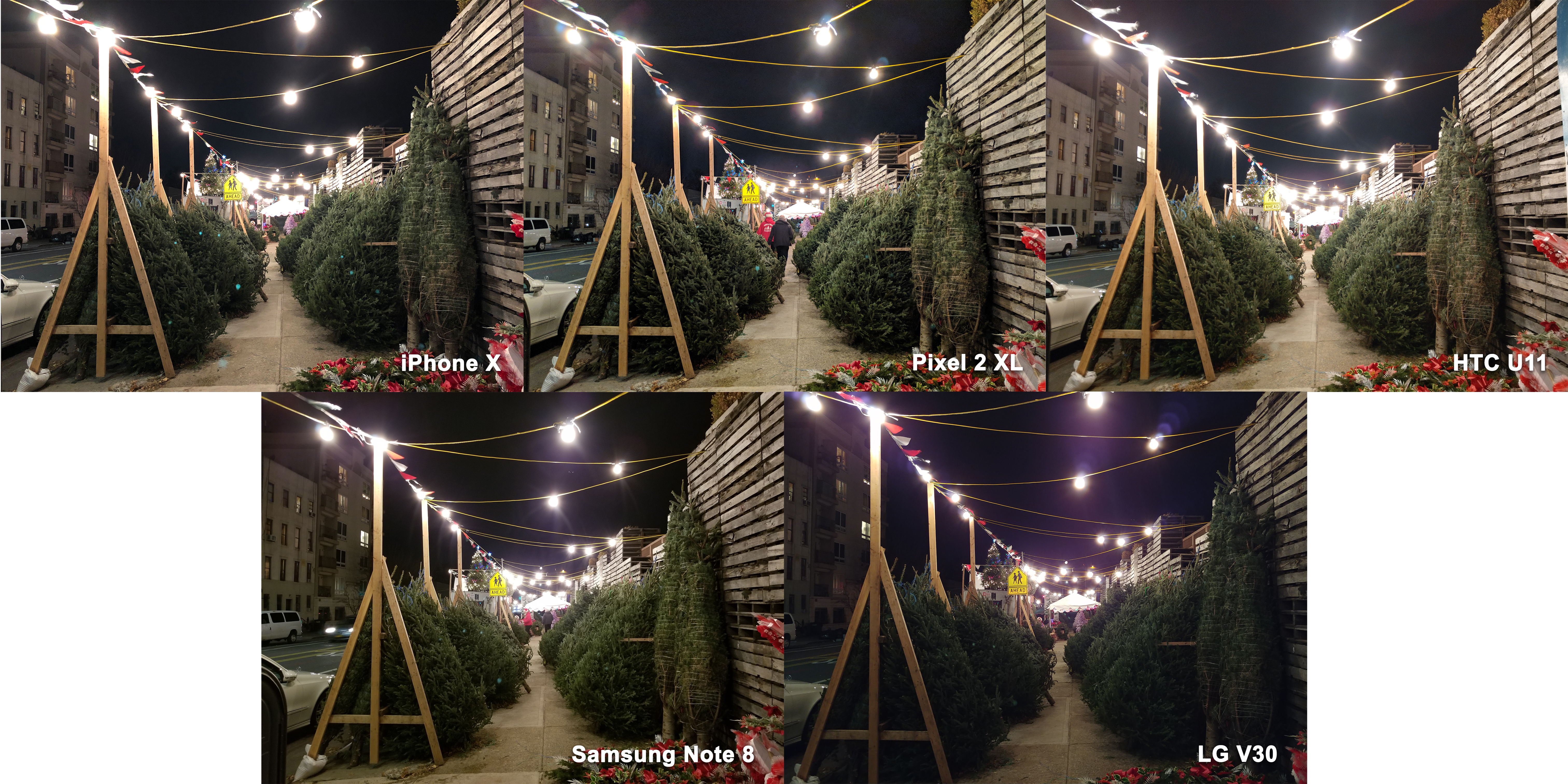 This is a slightly less challenging scene in that thereu0027s at least a lot more light. But itu0027s still a dark setting and I expected the light bulbs to skew ...  sc 1 st  The Verge & Best smartphone camera 2017: iPhone X vs. Pixel 2 vs. Note 8 - The Verge