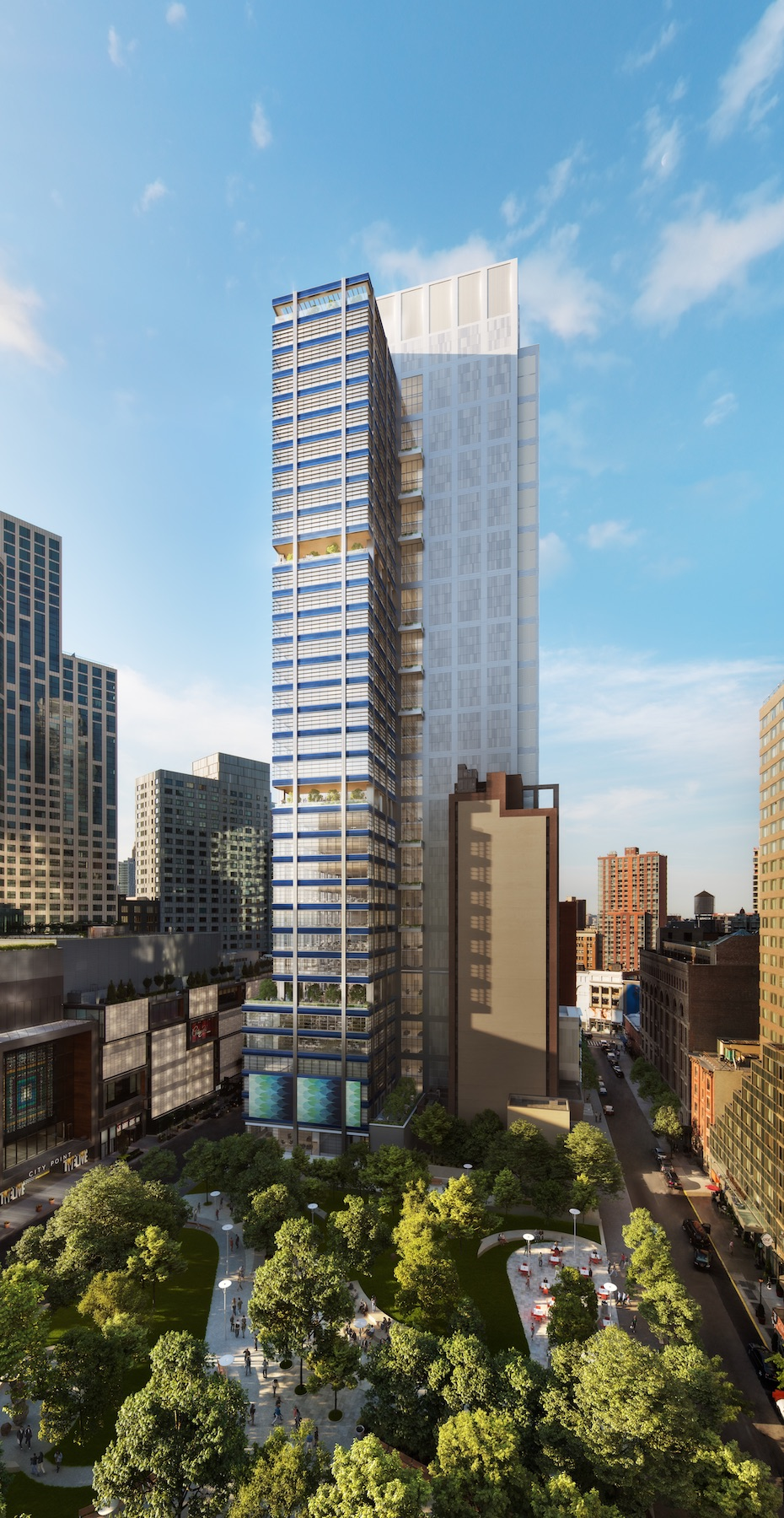 Downtown Brooklyn S 495 Foot Skyscraper Will Have Its Own