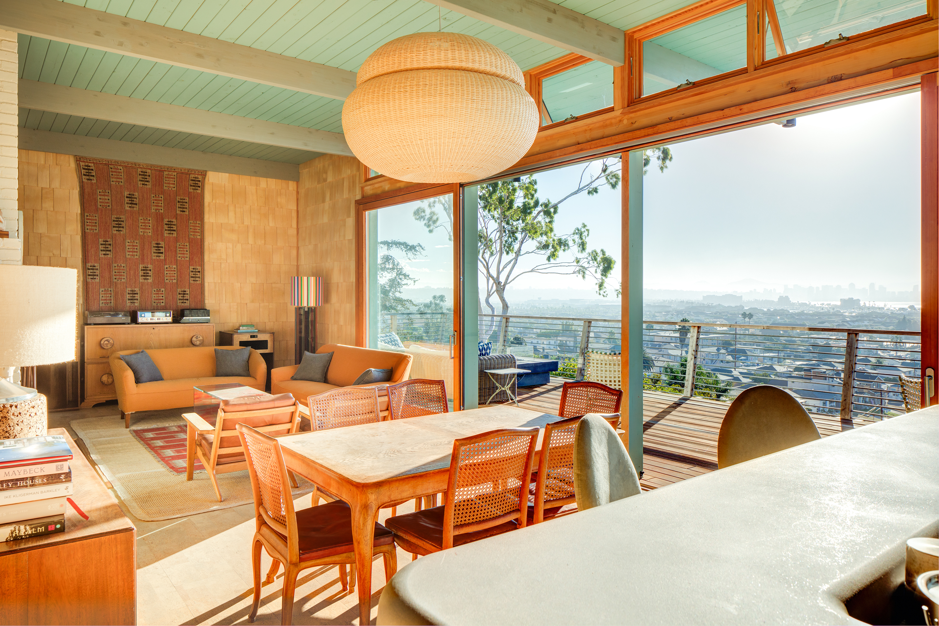 living room san diego 11 midcentury homes for the holidays curbed 12667