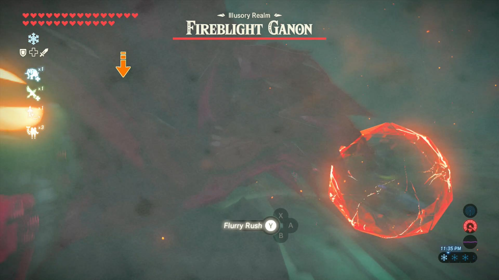 Zelda Breath of the Wild Champions' Ballad guide: Fireblight Ganon