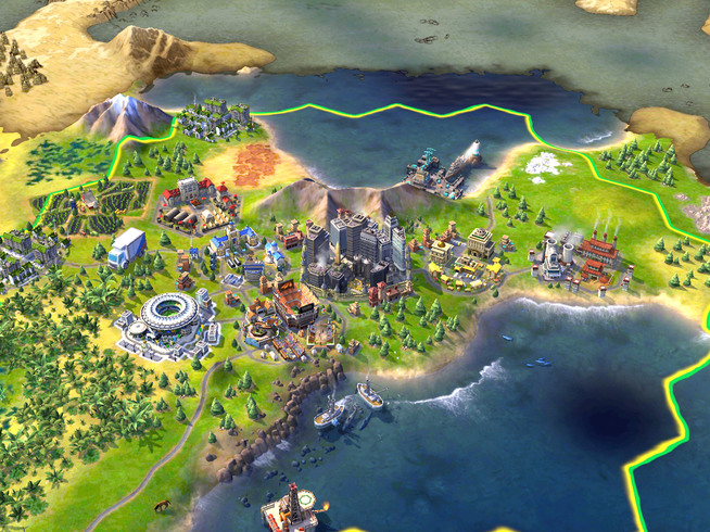 Sid Meier's Civilization 6  land and water