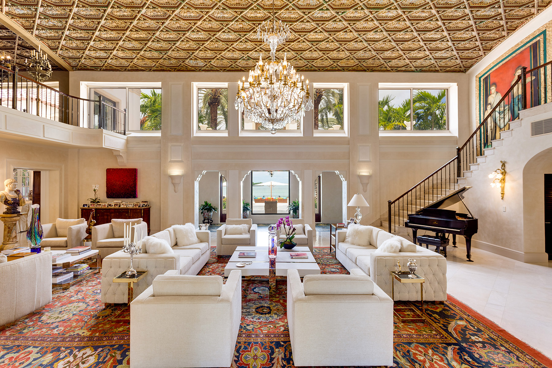 65m miami beach manse heads to auction curbed miami for Star island miami houses