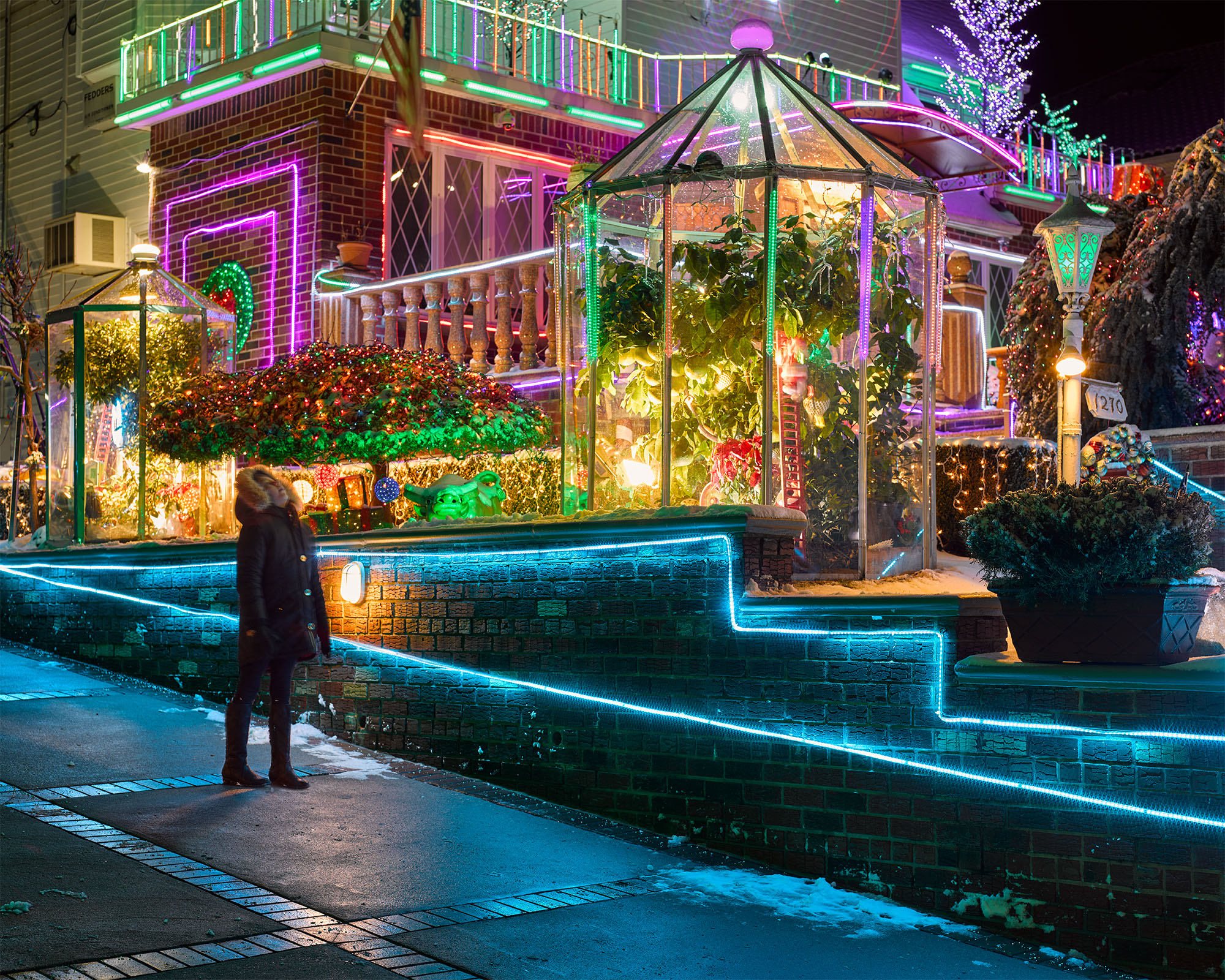 Dyker heights christmas lights photos of nycs dazzling holiday bus tours are sold out you can always head there yourself the best displays can be seen from 11th to 13th avenues between 83rd and 86th streets solutioingenieria Choice Image