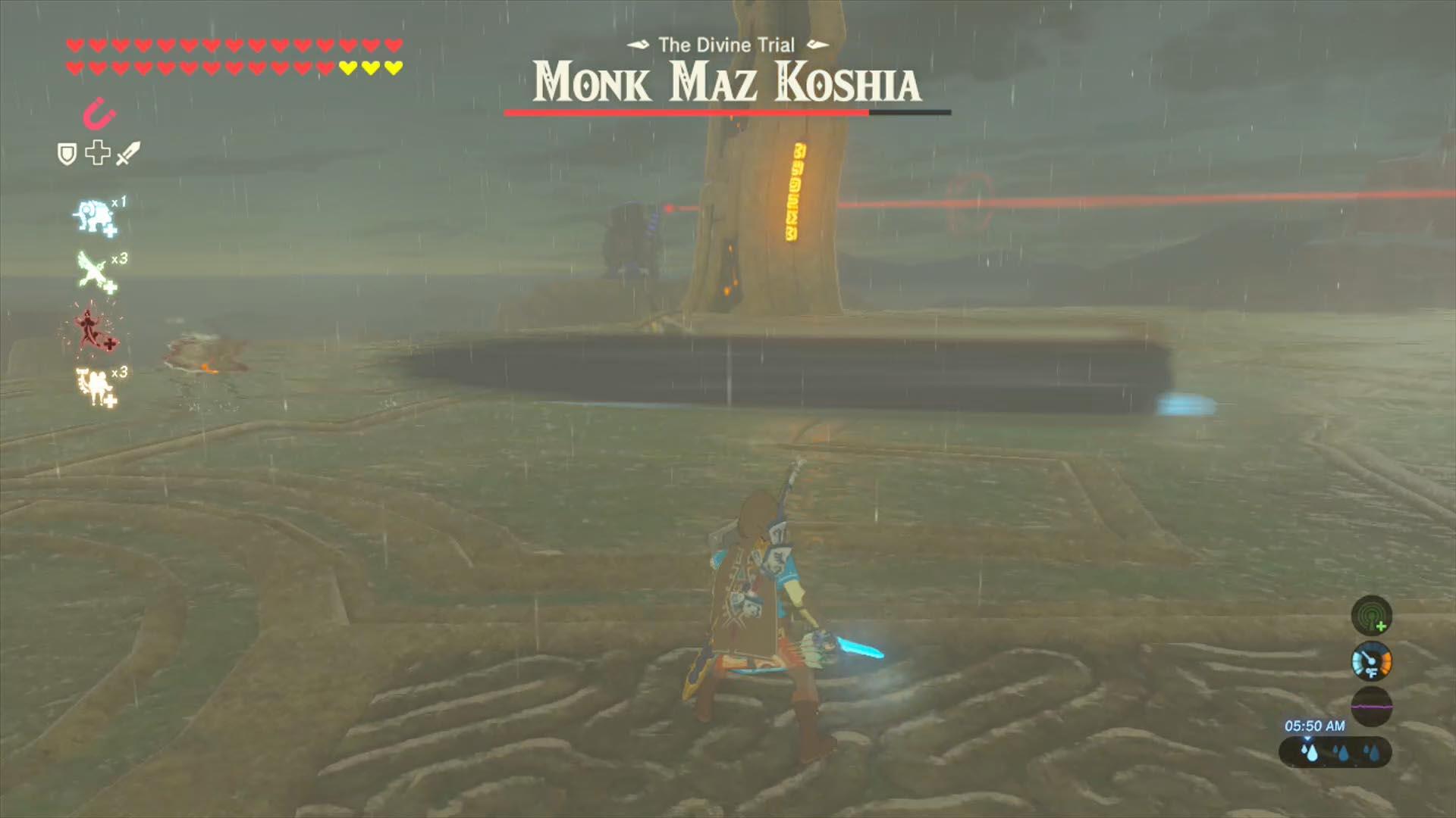 Zelda breath of the wild champions ballad guide monk maz koshia boss fight polygon - How do you get the master cycle zero ...