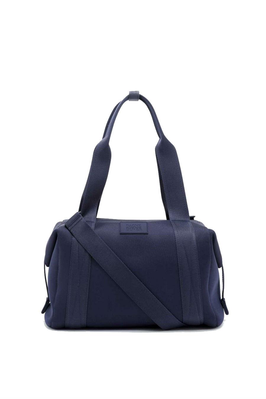 A Navy Dagne Dover Gym Bag