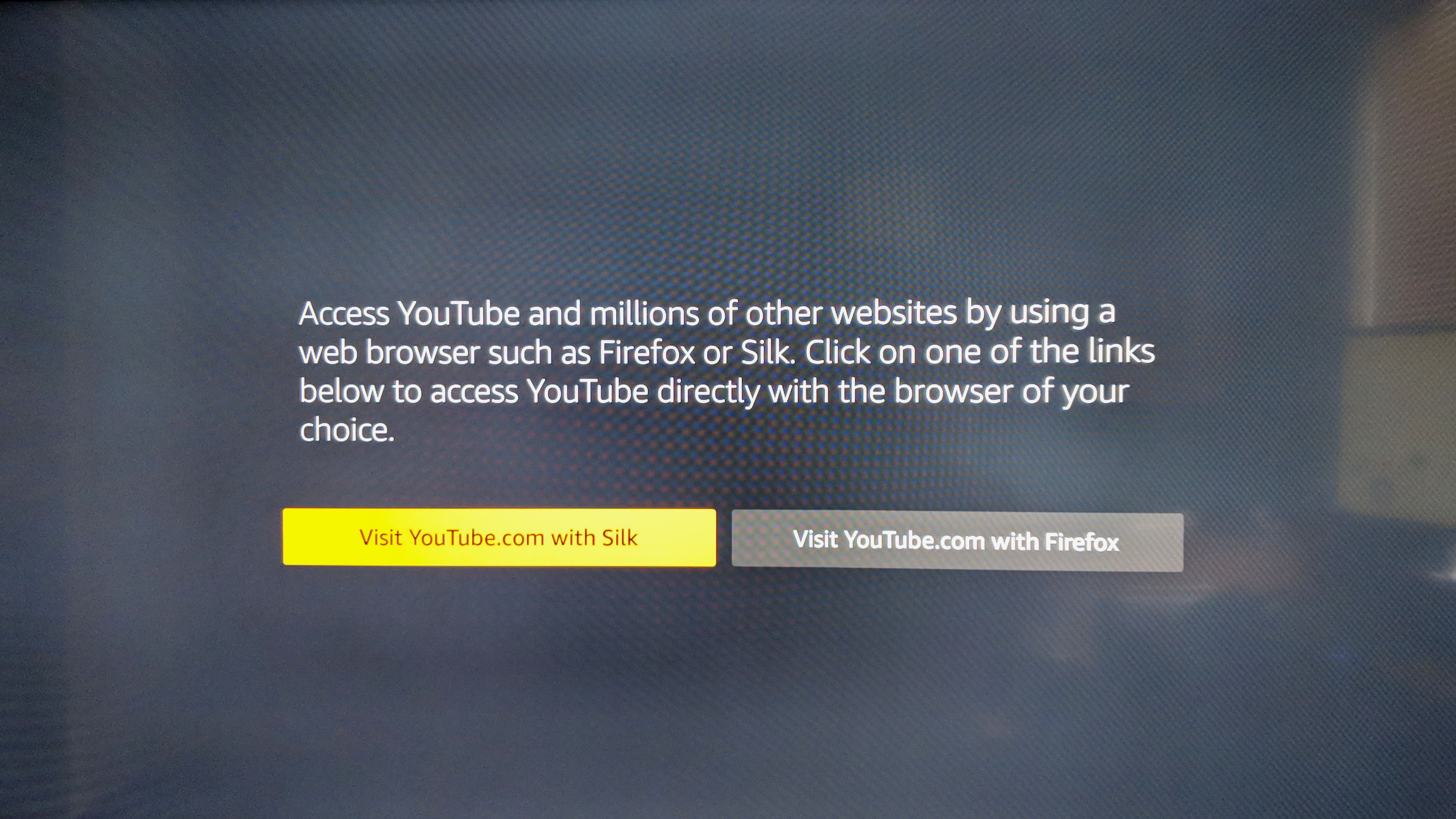 Google withdraws YouTube app from Amazon Fire TV
