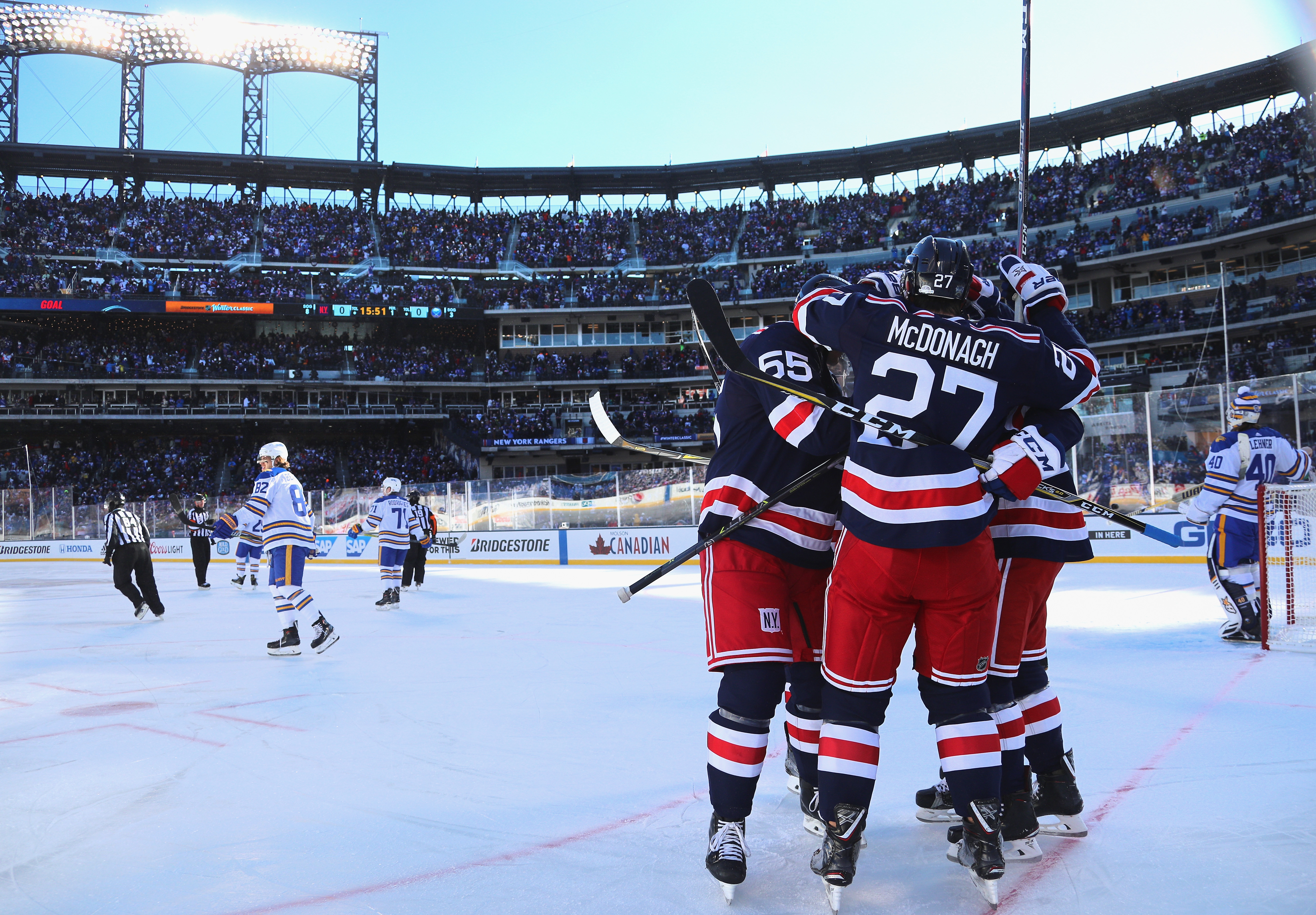 80fb07b41af8dc 2018 Winter Classic: The best outdoor photos of the Sabres vs ...