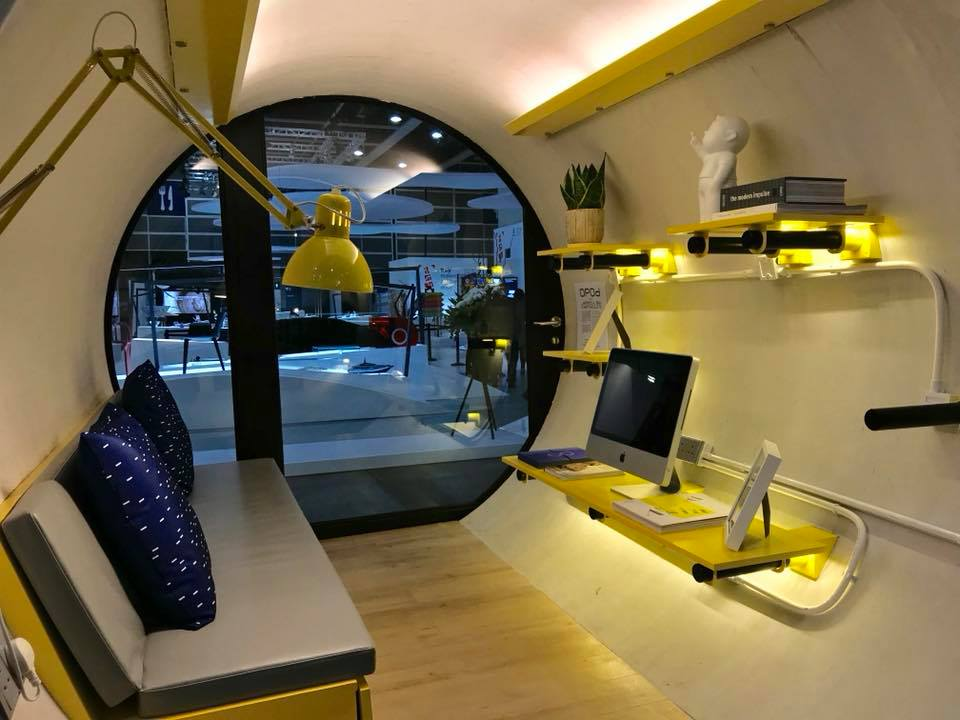 Hong Kong tiny apartment created in old water pipe - Curbed