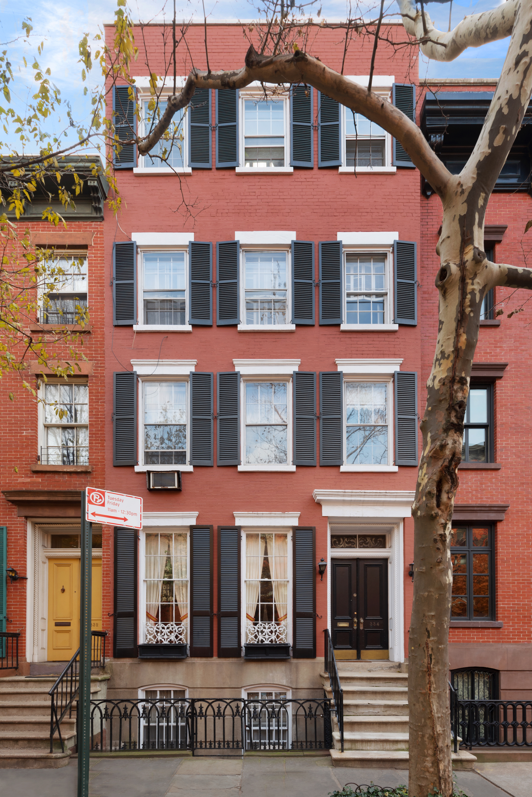 165 year old west village townhouse with verdant rooftop for West village townhouse for sale