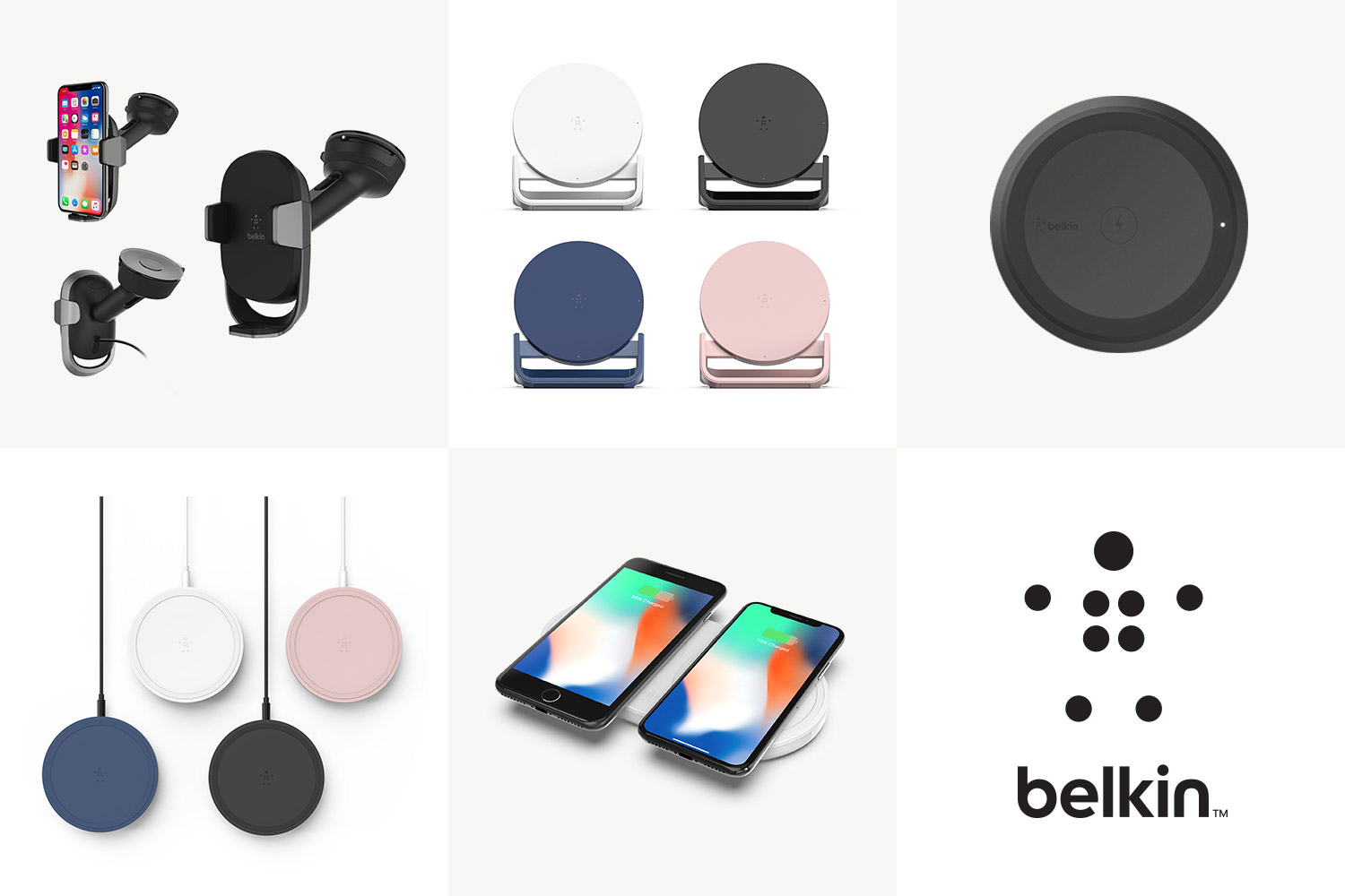Belkin's new wireless chargers could be the ideal iPhone X powering pads