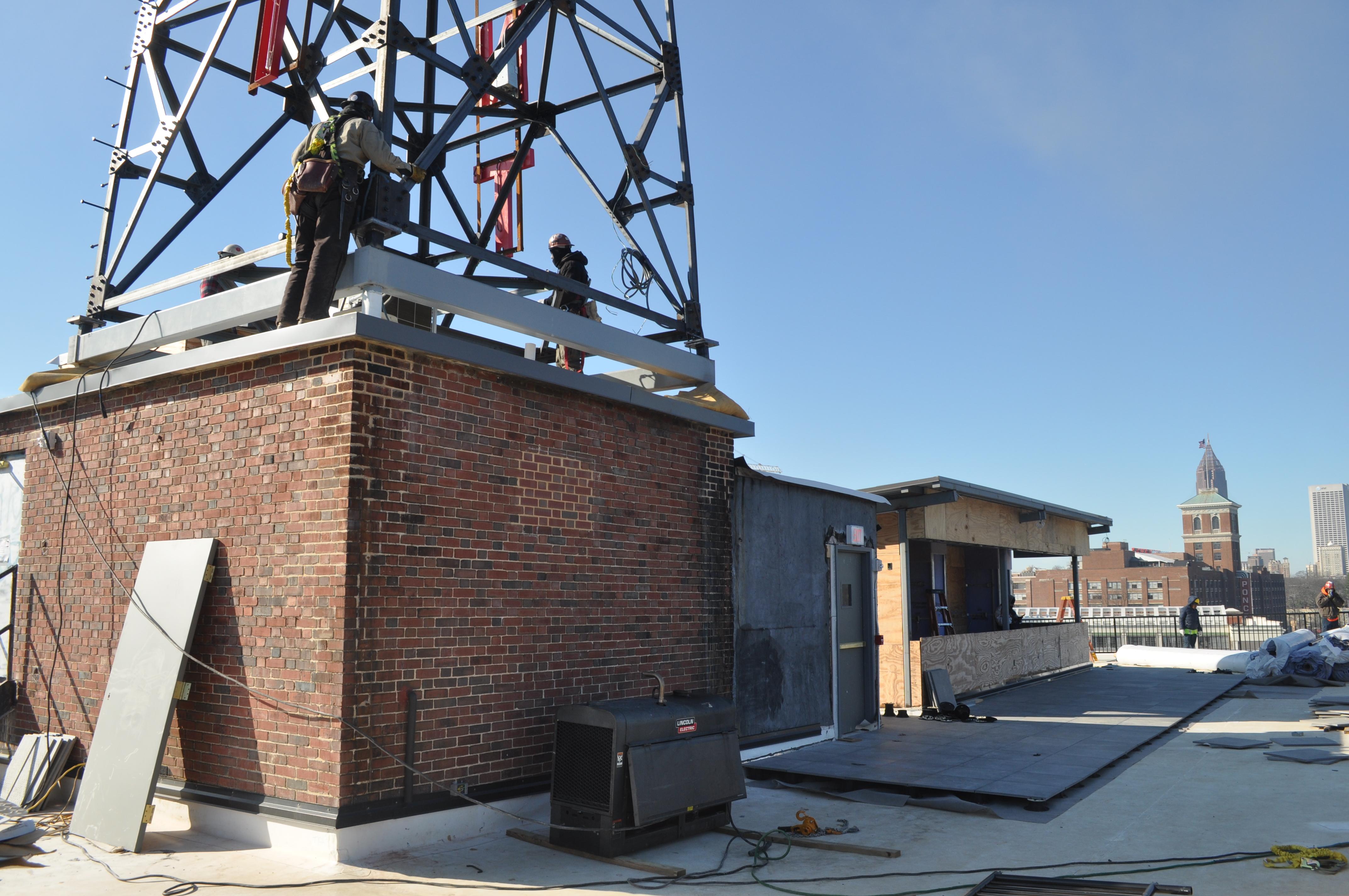 Photos At Clermont Hotel Return Of Landmark Radio Tower