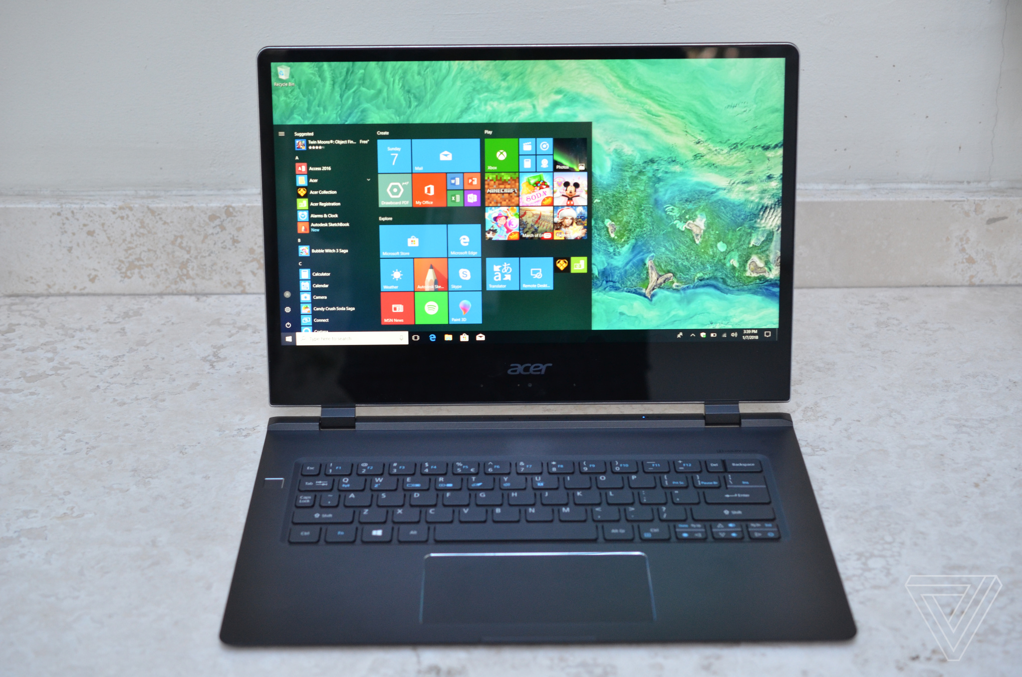 Acer\u0027s updated Swift 7 Ultrabook is once again the \u0027thinnest