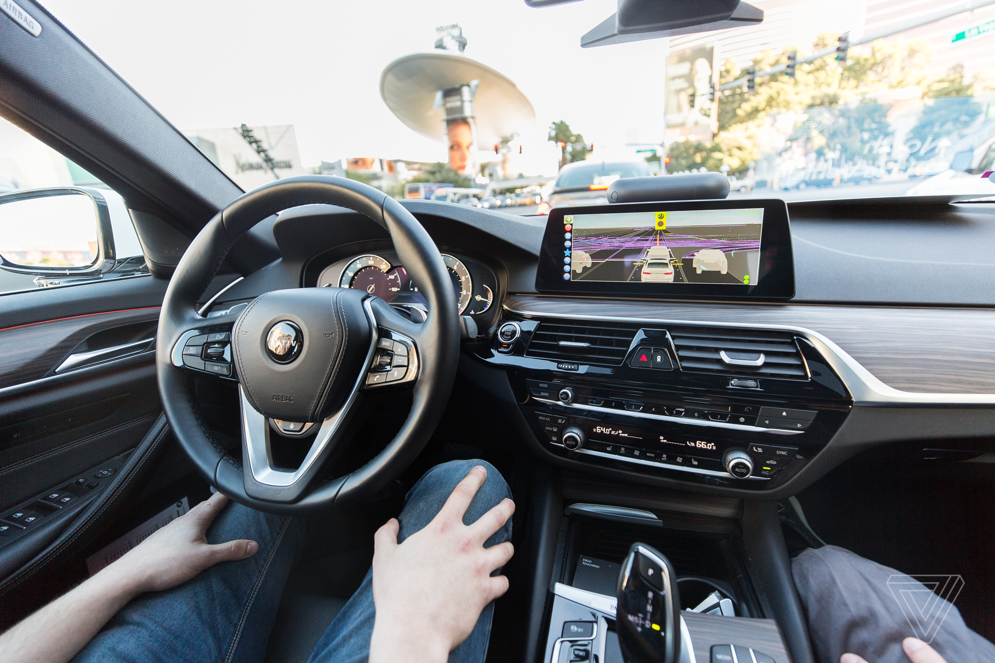 Self Driving Cab >> I Took A Gamble By Riding In A Self Driving Lyft In Las Vegas The
