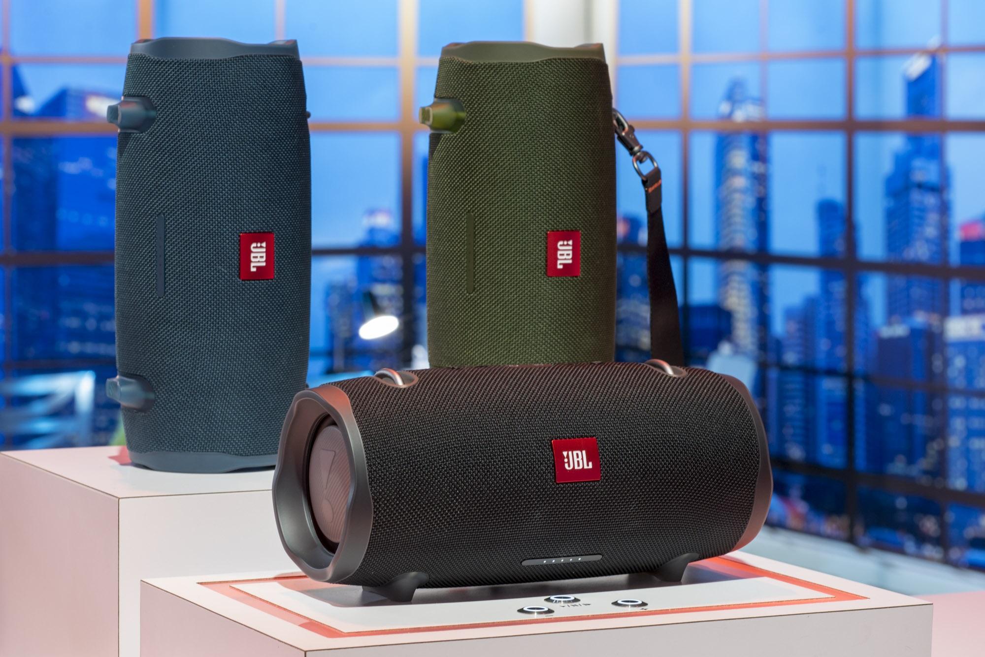 jbl releases google assistant enabled headphones and upgraded speakers the verge. Black Bedroom Furniture Sets. Home Design Ideas