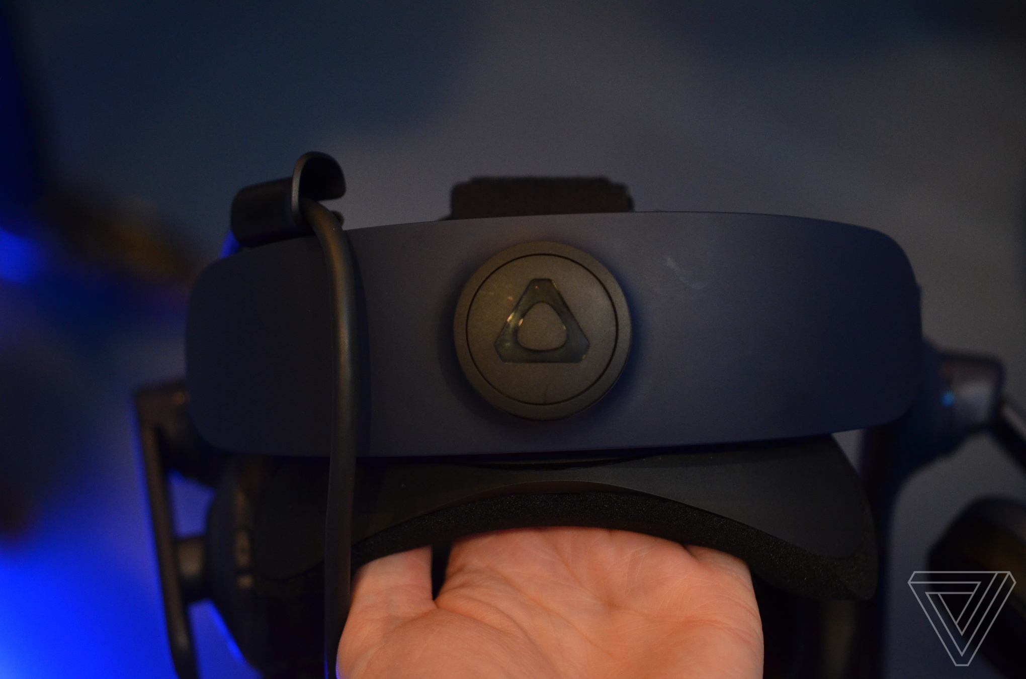 A closer look at HTC's new higher-resolution Vive Pro - The