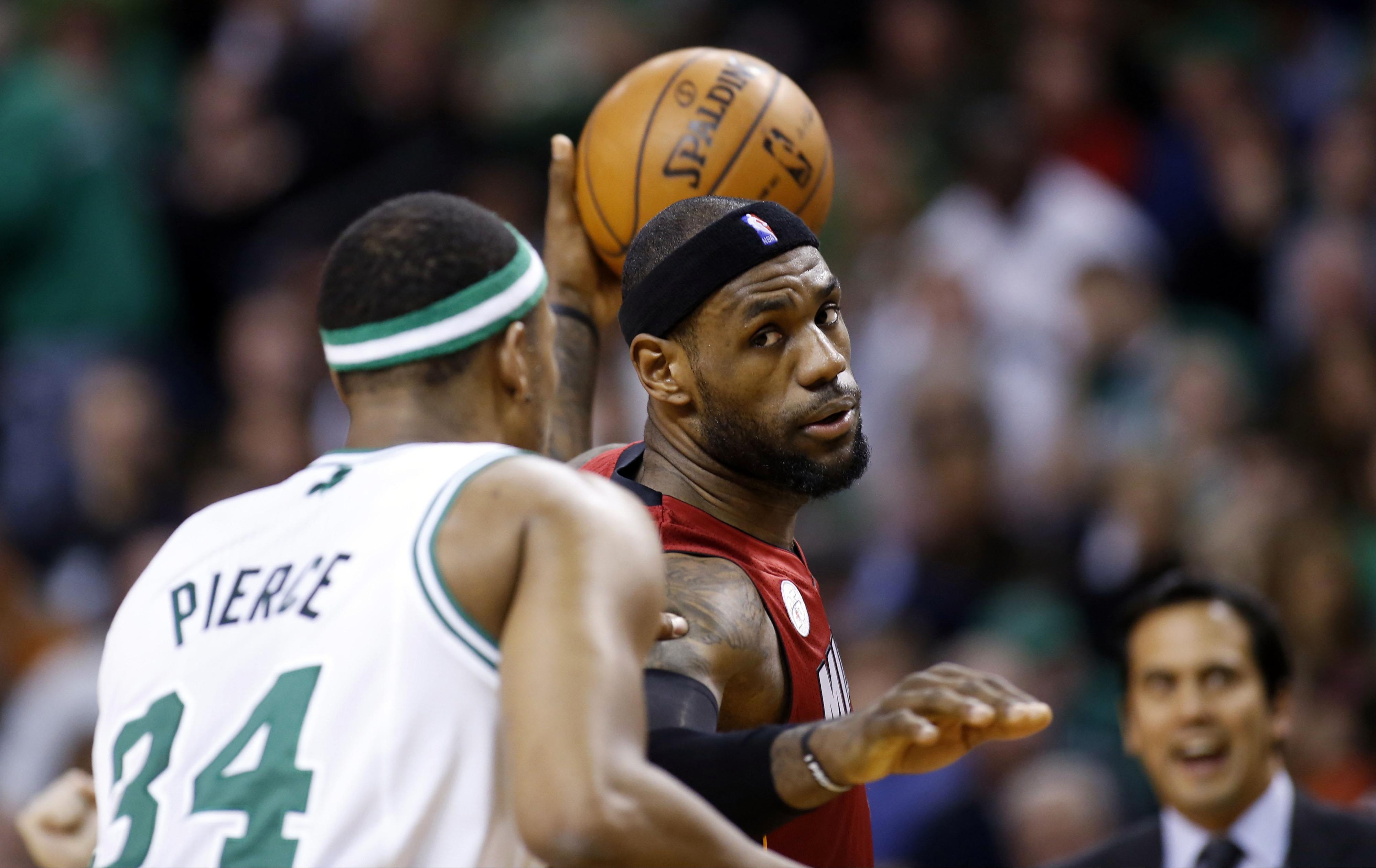Heat winning streak survives Celtics' best effort, with history calling