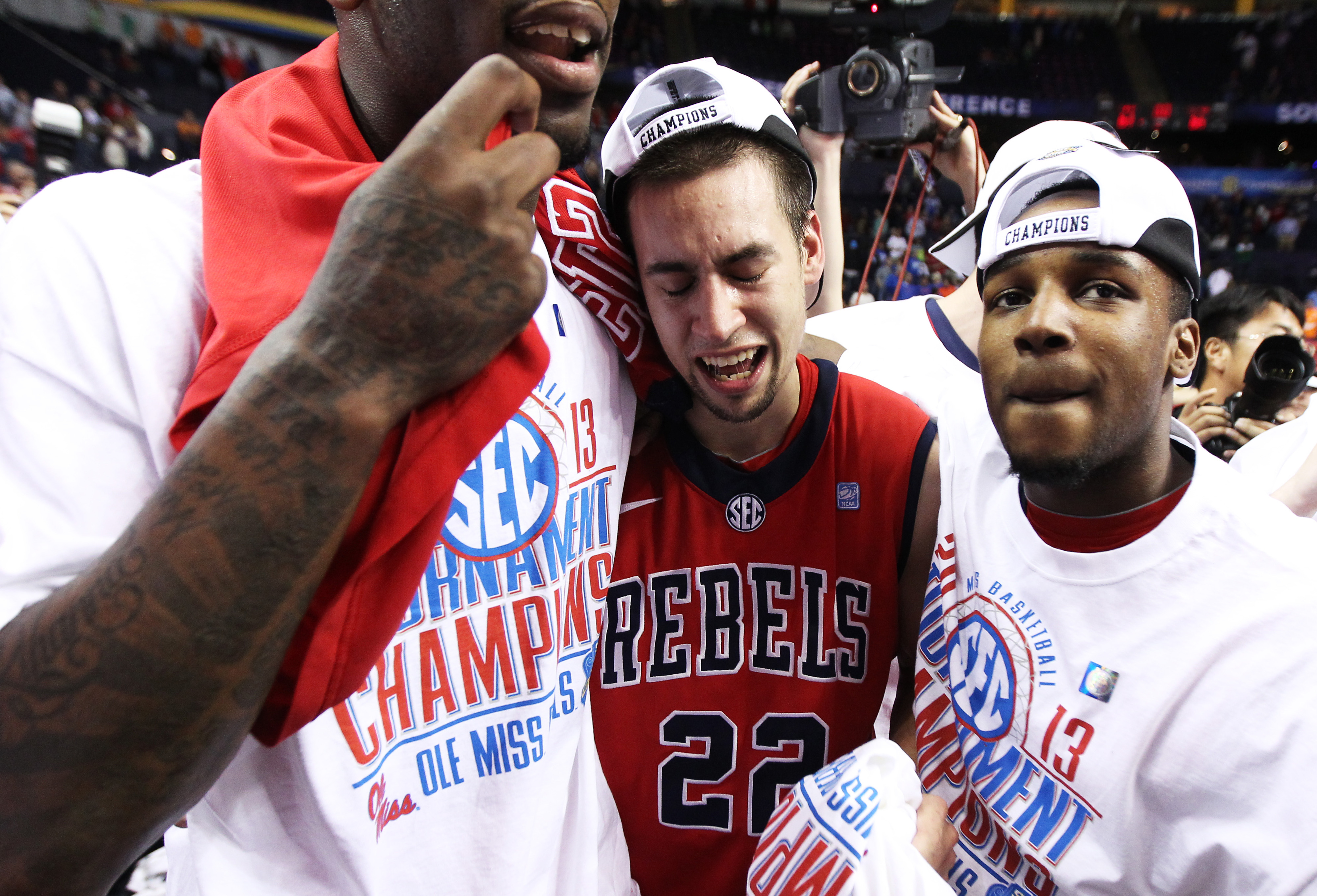 Marshall Henderson is so excited, so excited, so ... tired?
