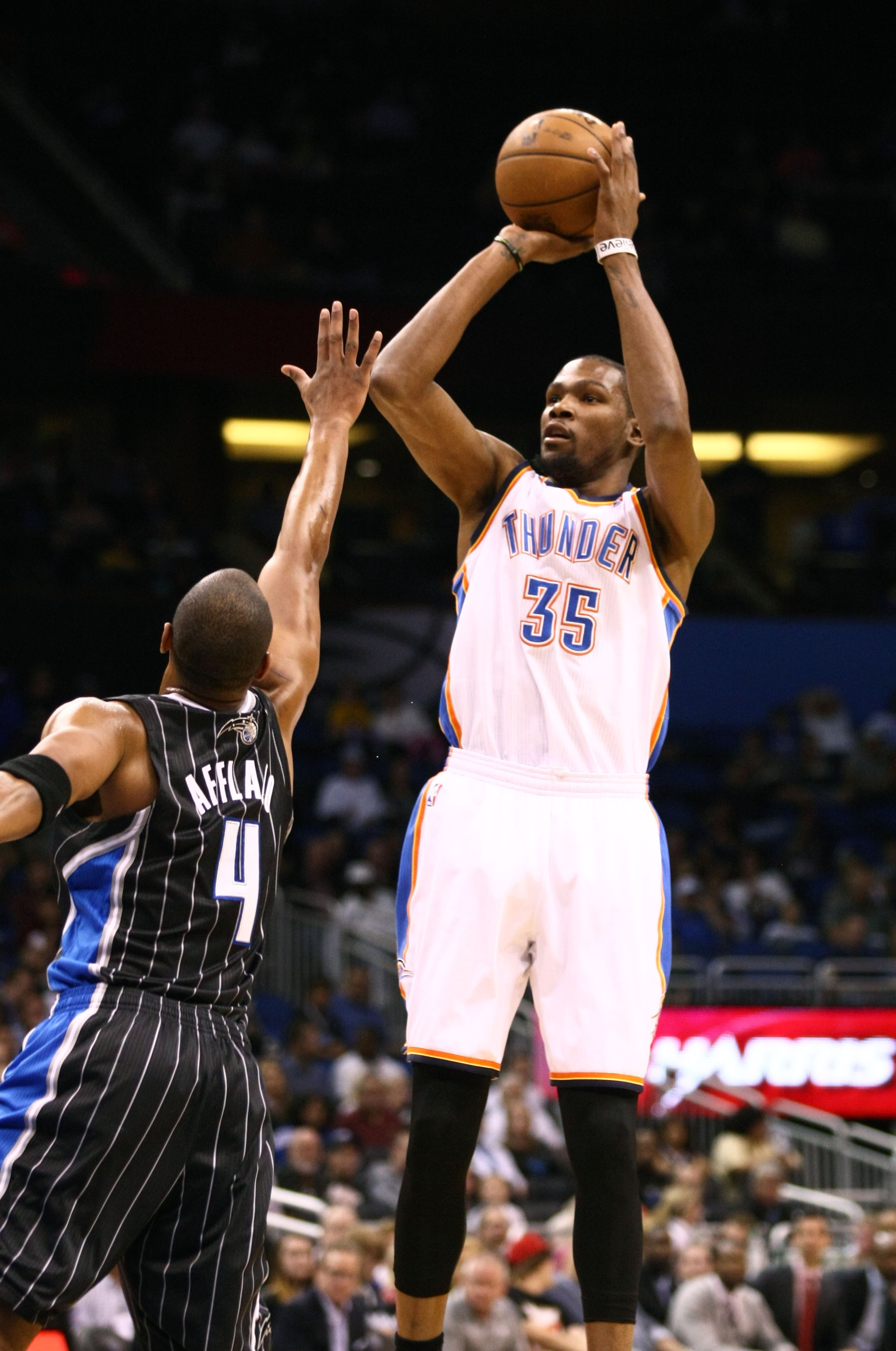 Arron Afflalo and Kevin Durant