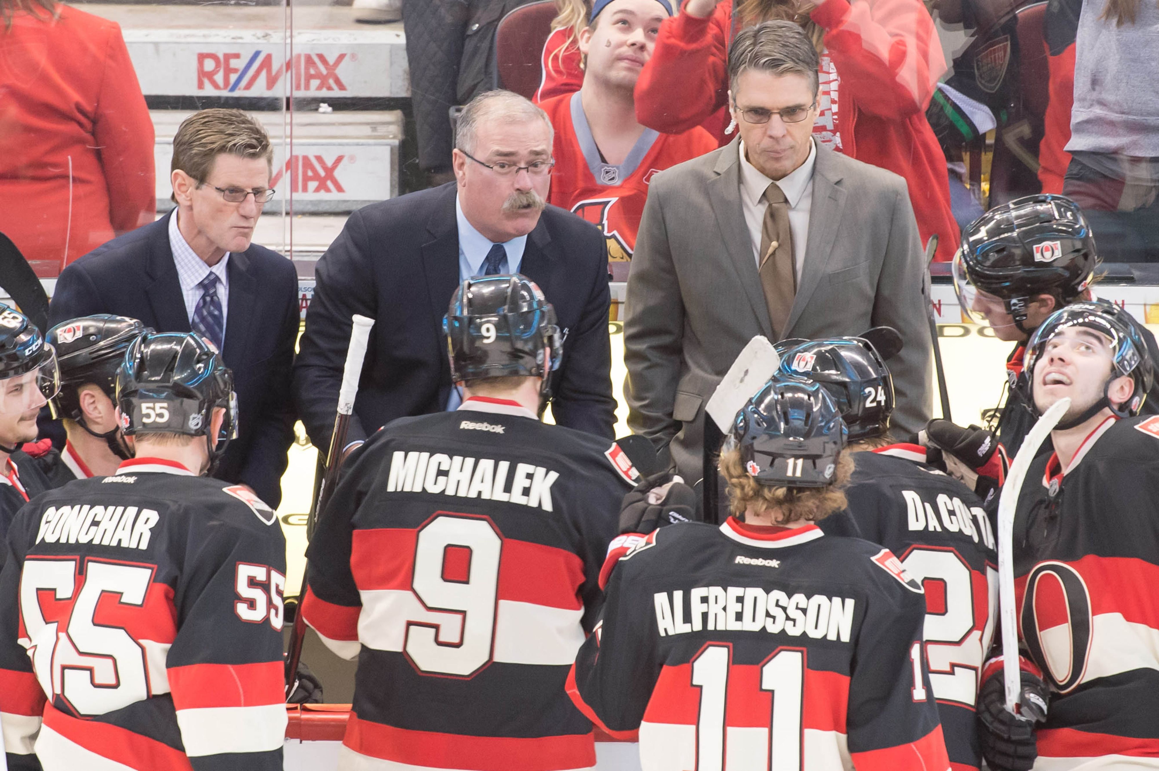 When Paul MacLean talks, players listen (or at least the ones over 20).